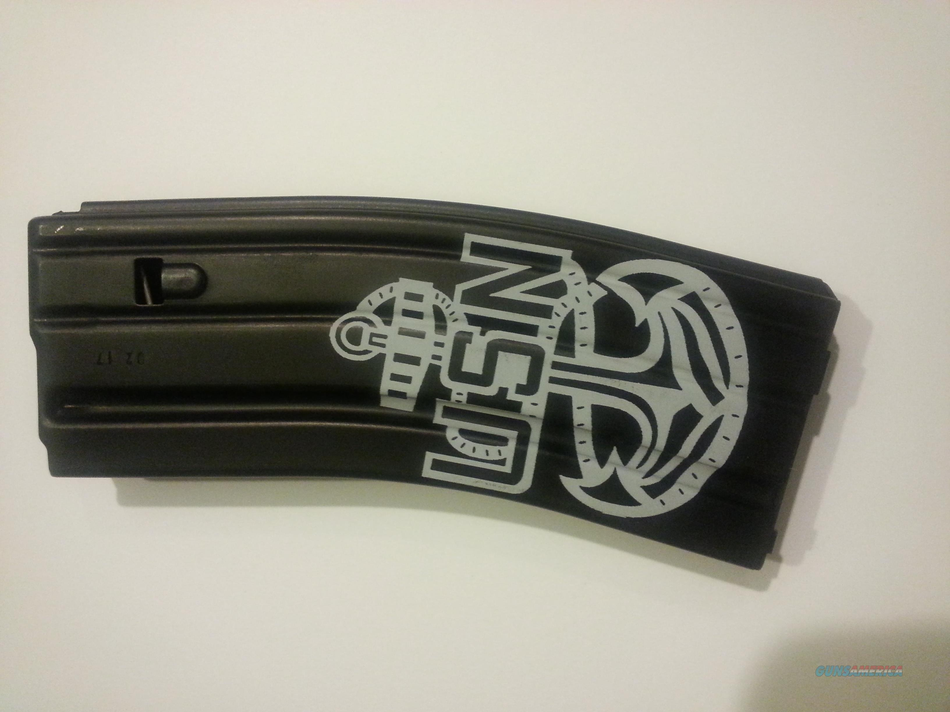 Navy Anchor Laser Etched 30  5.56 .223 Aluminum Magazine  Non-Guns > Magazines & Clips > Rifle Magazines > AR-15 Type