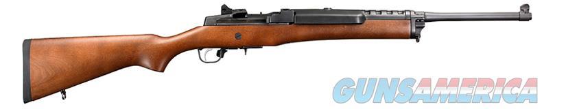 "Ruger 5801 Mini-14 Ranch Semi-Automatic 223 Rem/5.56 NATO 18.50"" 5+1 Hardwood Stock Blued  Guns > Rifles > Ruger Rifles > Mini-14 Type"