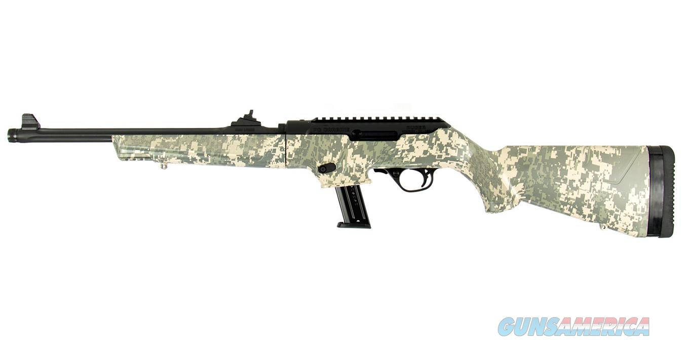"Ruger 19107 PC Carbine 9mm Luger 16.12"" 17+1 Black Hardcoat Anodized Synthetic Digital Camo Stock  Guns > Rifles > Ruger Rifles > PC Carbine"