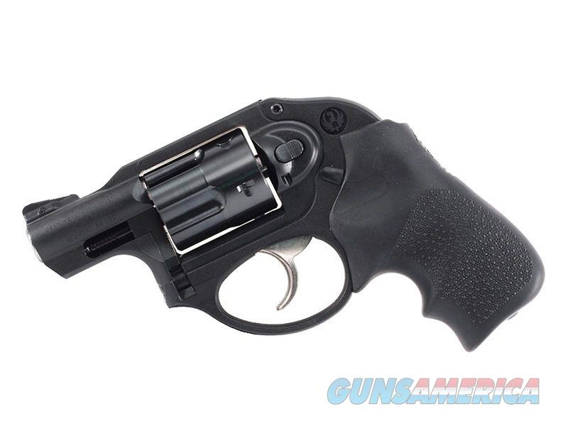 "Ruger 5456 LCR 9mm Luger 1.87"" 5 Round Black Hogue Tamer Monogrip Grip Black Matte  Guns > Pistols > Ruger Double Action Revolver > LCR"