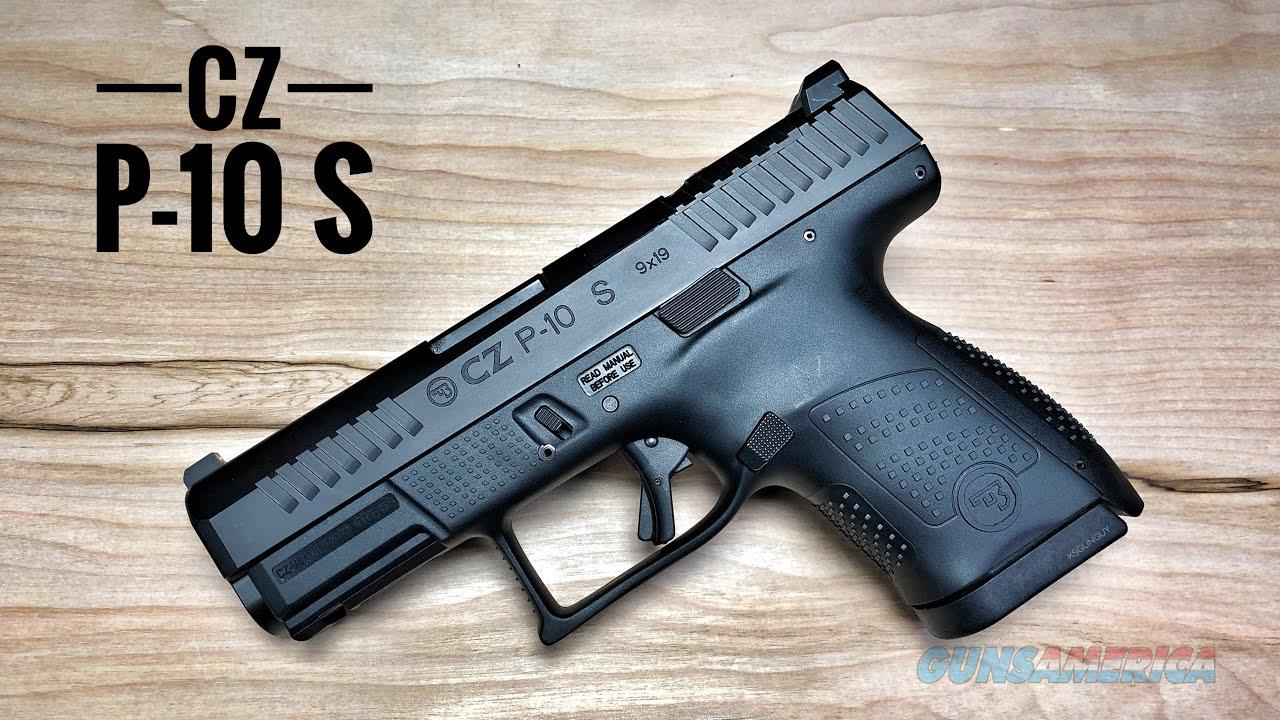 CZ P10-S OPTICS READY CZ 95170  Guns > Pistols > CZ Pistols