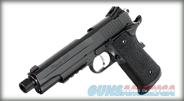 Brand New Sig Sauer 1911 Tactical .45 threaded barrel  Guns > Pistols > Sig - Sauer/Sigarms Pistols > 1911