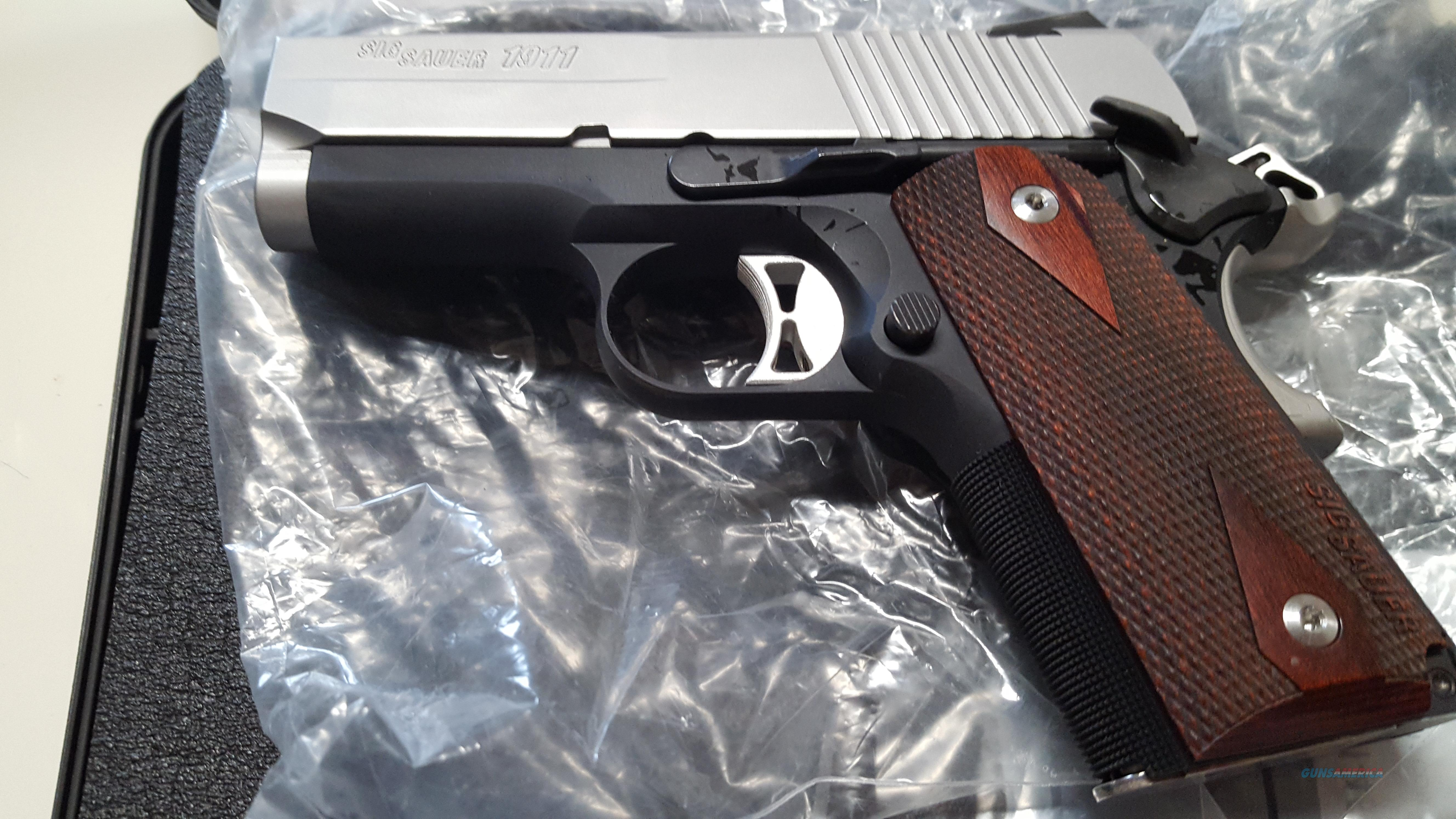 Sig Sauer 1911 Ultra Compact .45ACP (brand new)  Guns > Pistols > Sig - Sauer/Sigarms Pistols > 1911