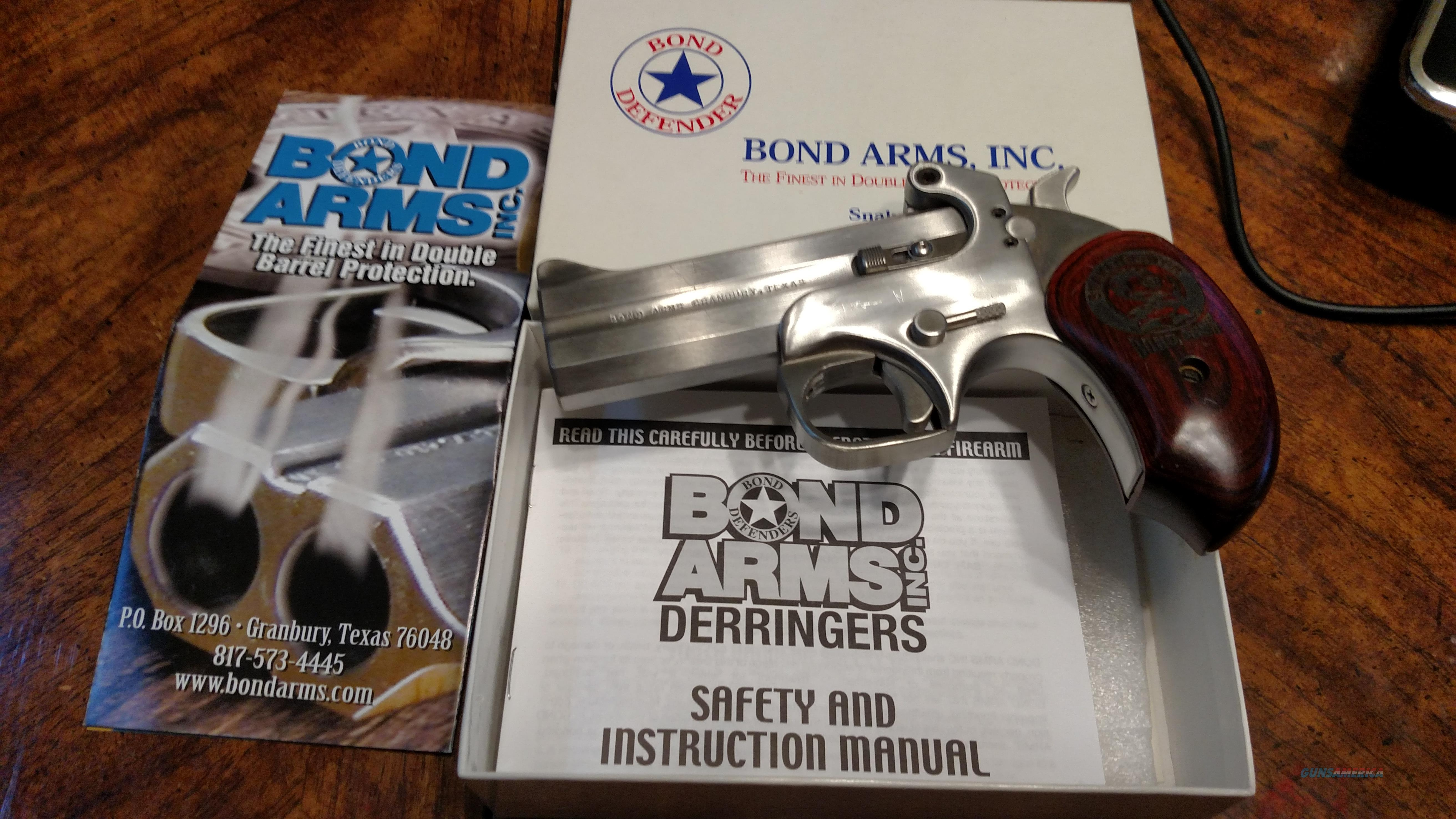 BOND ARMS SNAKE SLAYER IV 45/410  Guns > Pistols > Bond Derringers