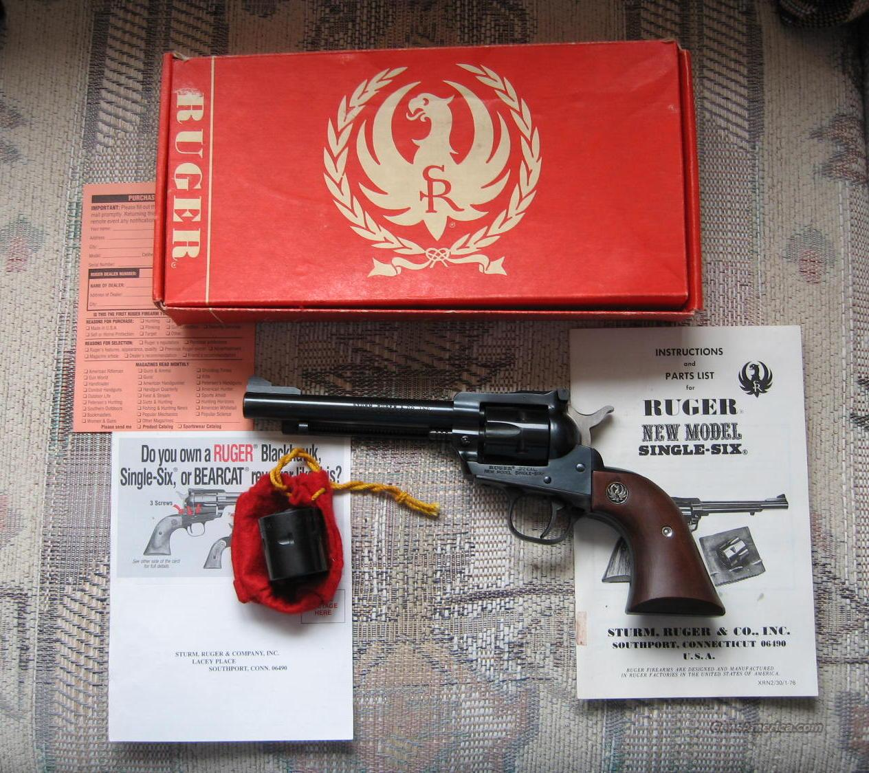 "Ruger Single-Six Liberty Model 5 1/2""  Guns > Pistols > Ruger Single Action Revolvers > Single Six Type"