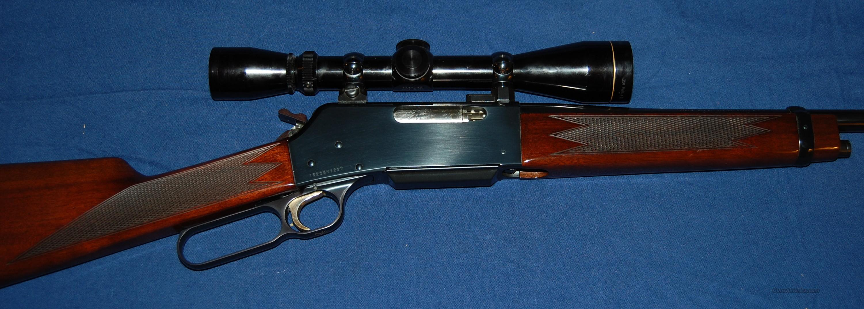 Browning BLR 81, 257 Roberts  Guns > Rifles > Browning Rifles > Lever Action