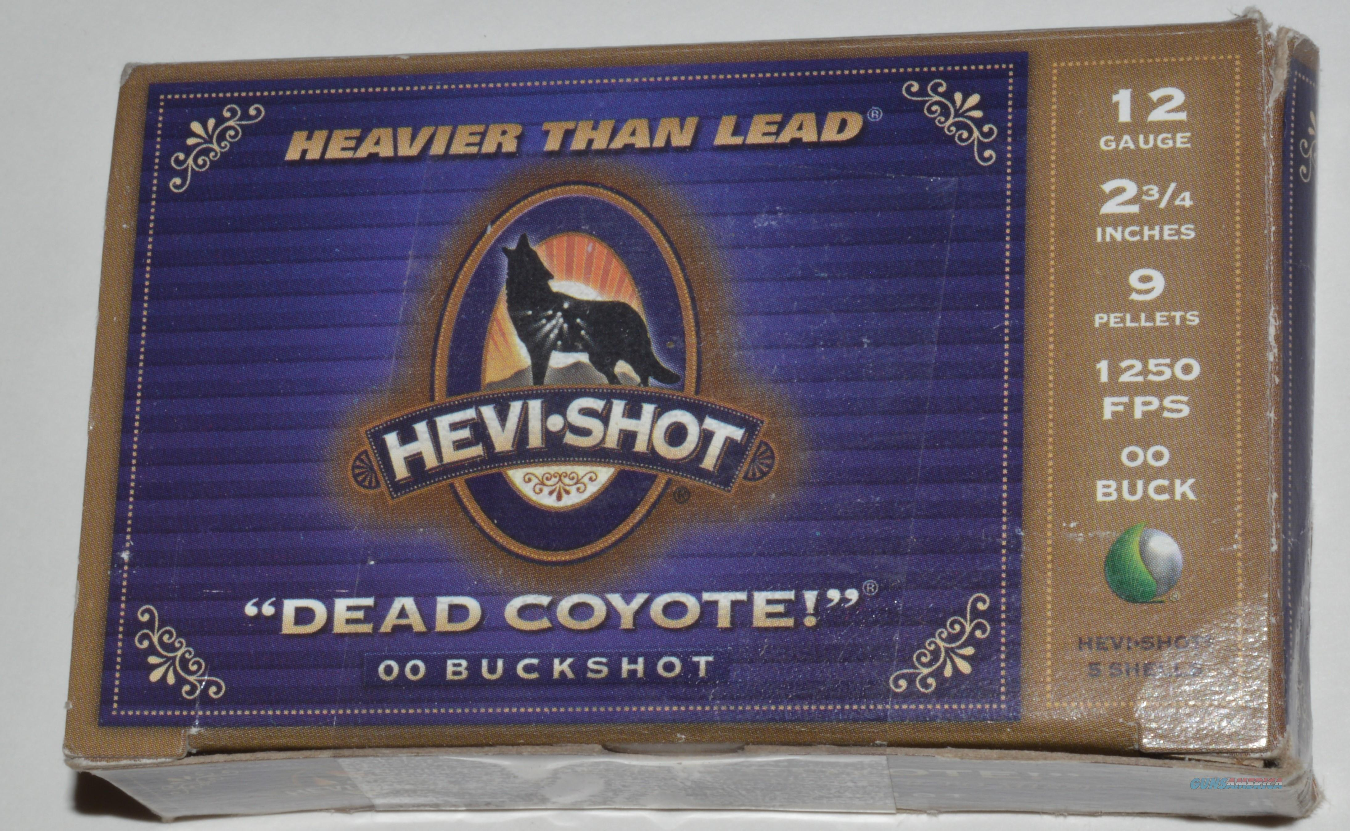 Hevi-Shot, 00 Buckshot  Non-Guns > Ammunition