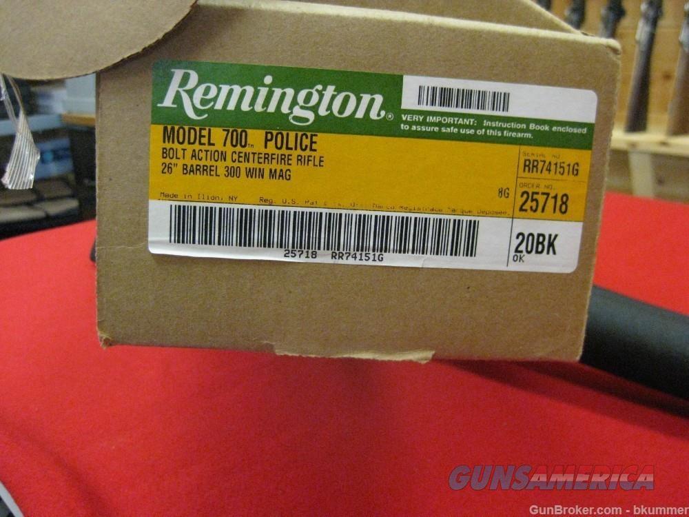 Remington 700 Police  Guns > Rifles > Remington Rifles - Modern > Model 700 > Tactical