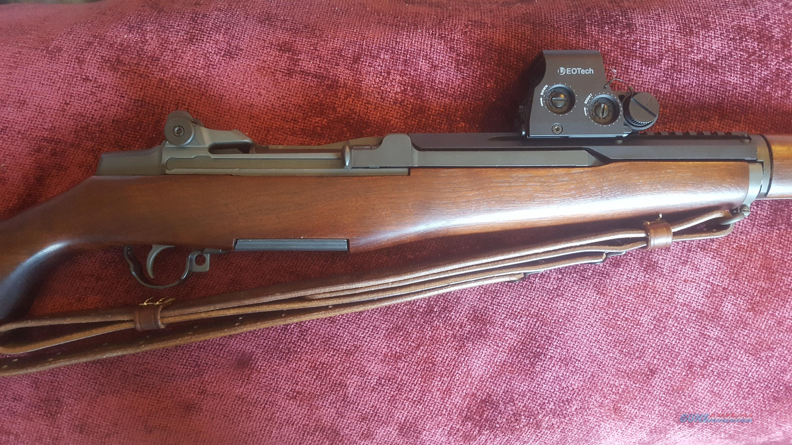 CMP Special M1 Garand  .308 (7.62 NATO) Springfield W/Eotech Holographic System  Guns > Rifles > Military Misc. Rifles US > M1 Garand