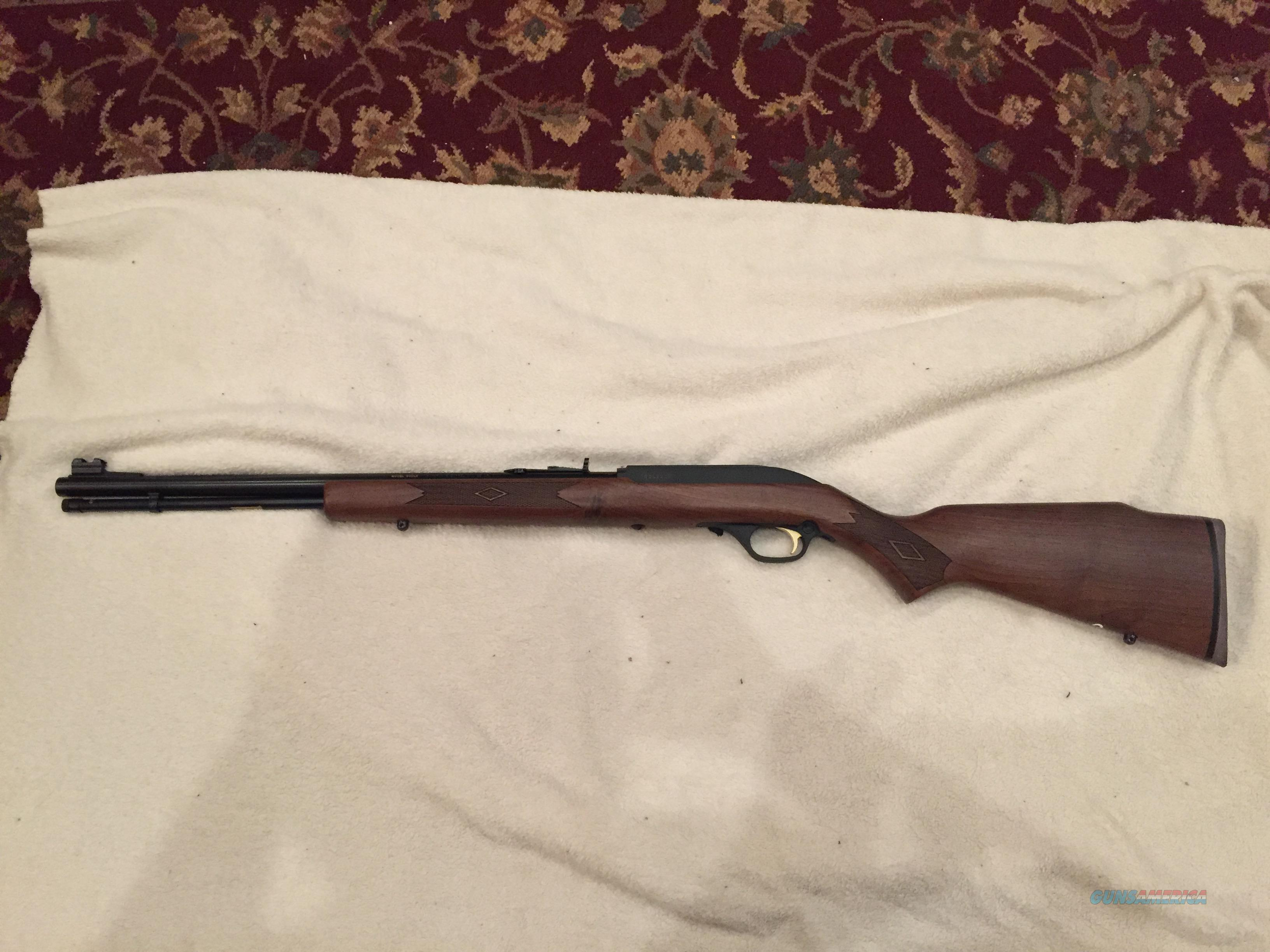 Marlin Model 60DLX - 22 LR  Guns > Rifles > Marlin Rifles > Modern > Semi-auto