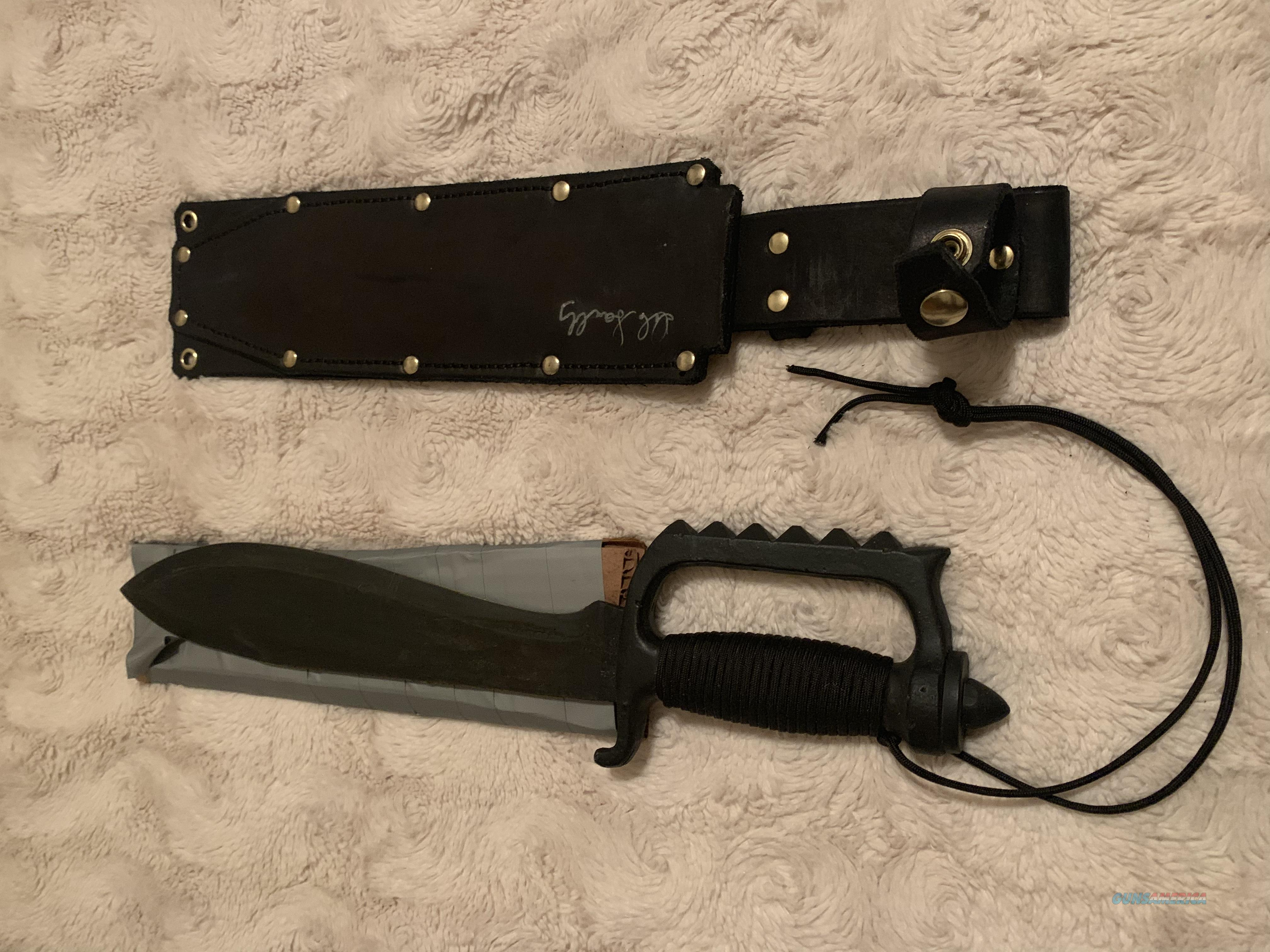 Signed EDMF knife  Non-Guns > Knives/Swords > Military > Non-Bayonets