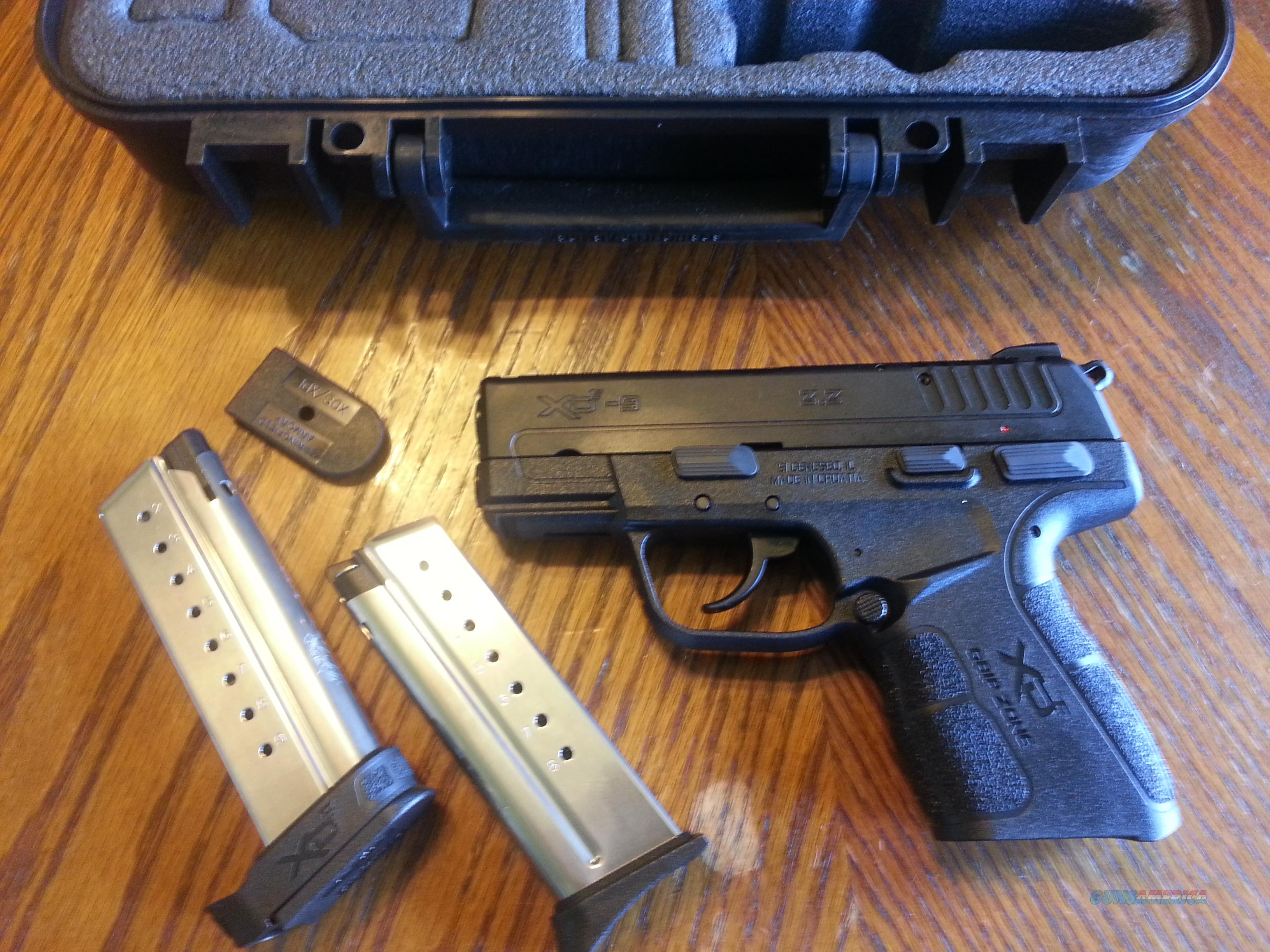 Springfield XD E 9mm New Model Hammer Fired D/A S/A Single Stack Concealed Carry NIB Fiber Optic Sight FREE LAYAWAY  Guns > Pistols > Springfield Armory Pistols > XD-E