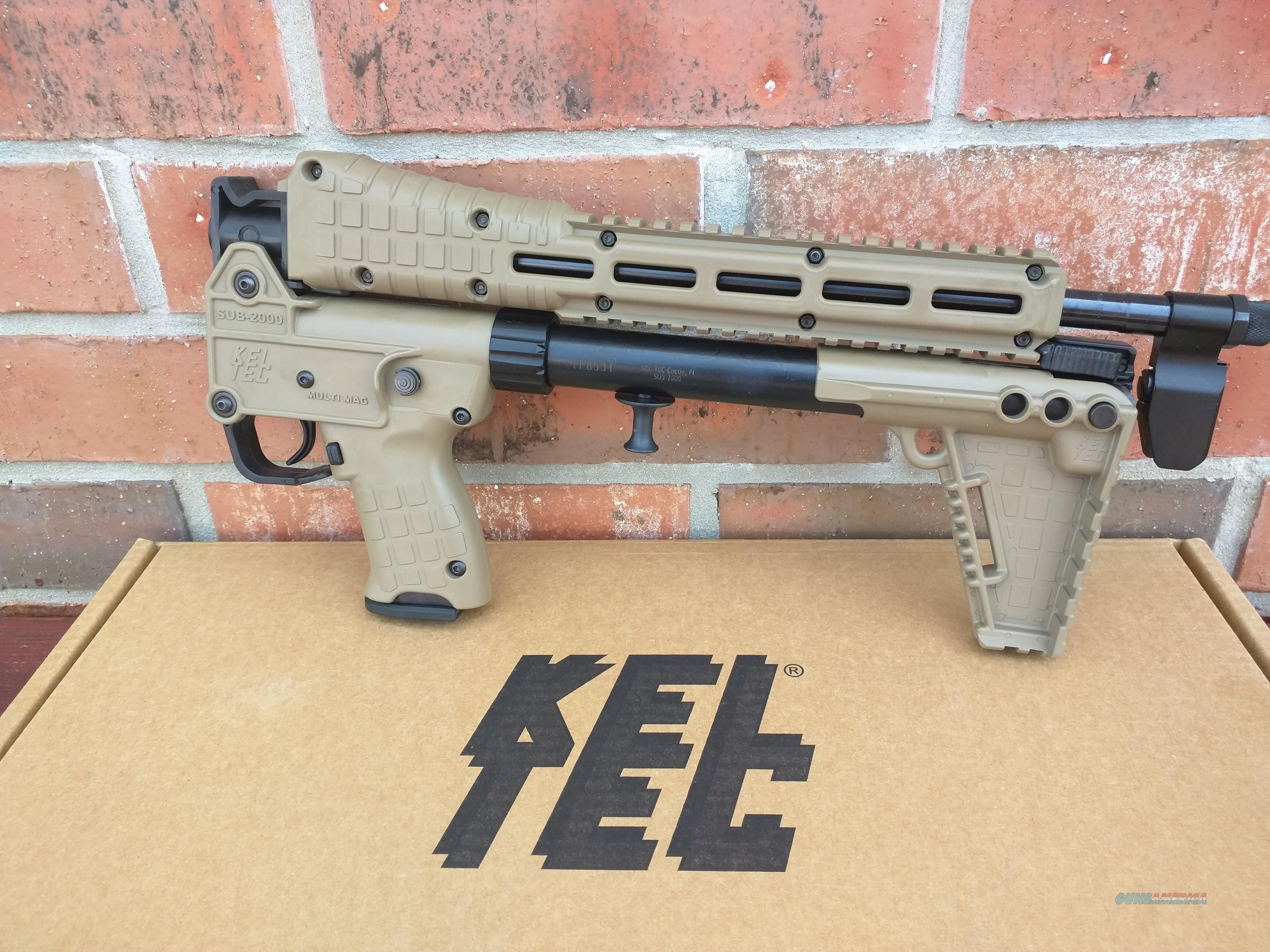 Keltec Kel tec Sub 2000 Sub 2K Gen 2 Tan 9mm S&W M&P Mags 17 Round Folding Rifle NIB Hard to Find FREE LAYAWAY!! SALE!!  Guns > Rifles > Kel-Tec Rifles