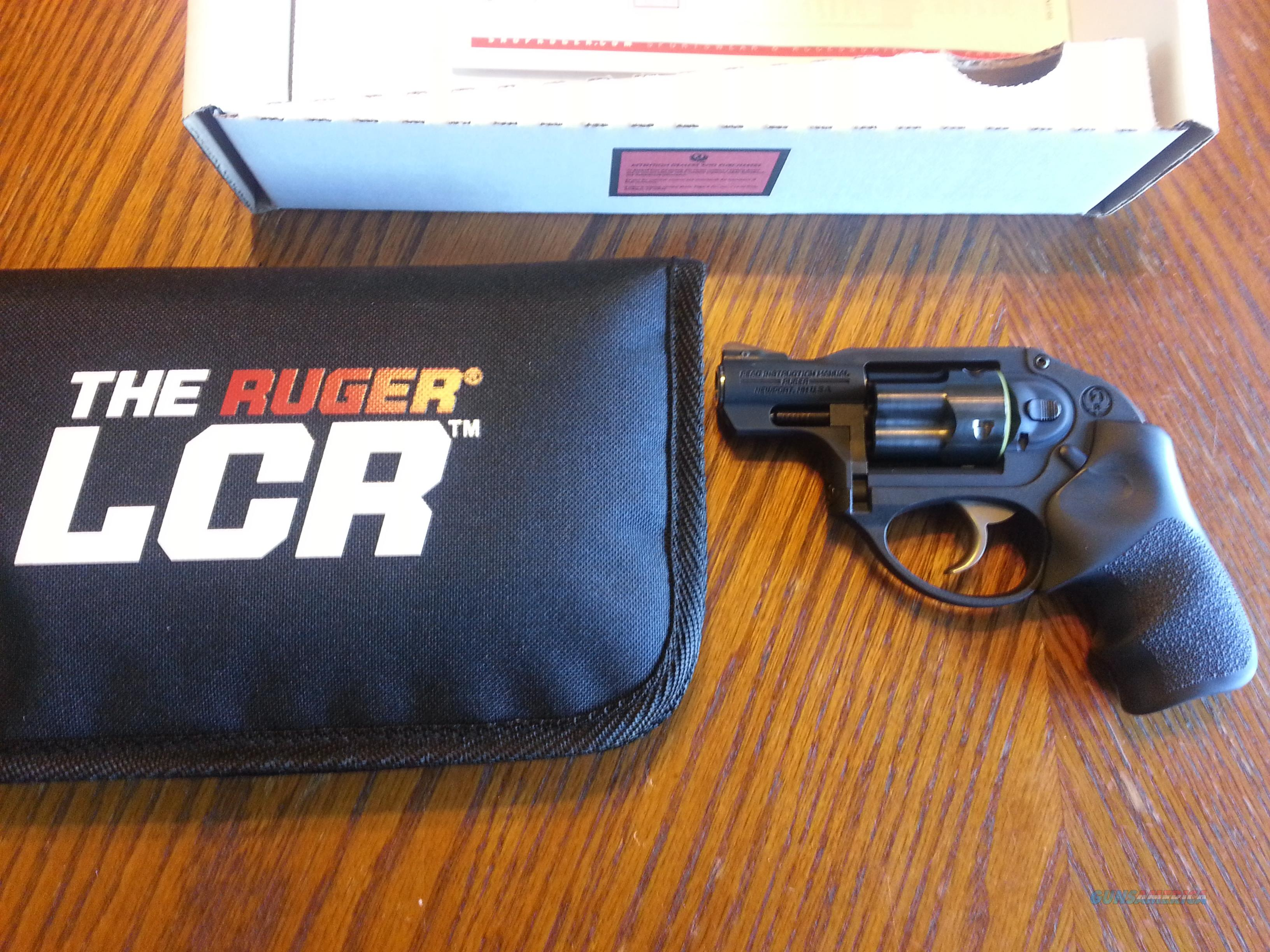 Ruger LCR 38 Spl + P NIB Soft Case 5 Shot DAO SALE!!!  Guns > Pistols > Ruger Double Action Revolver > LCR