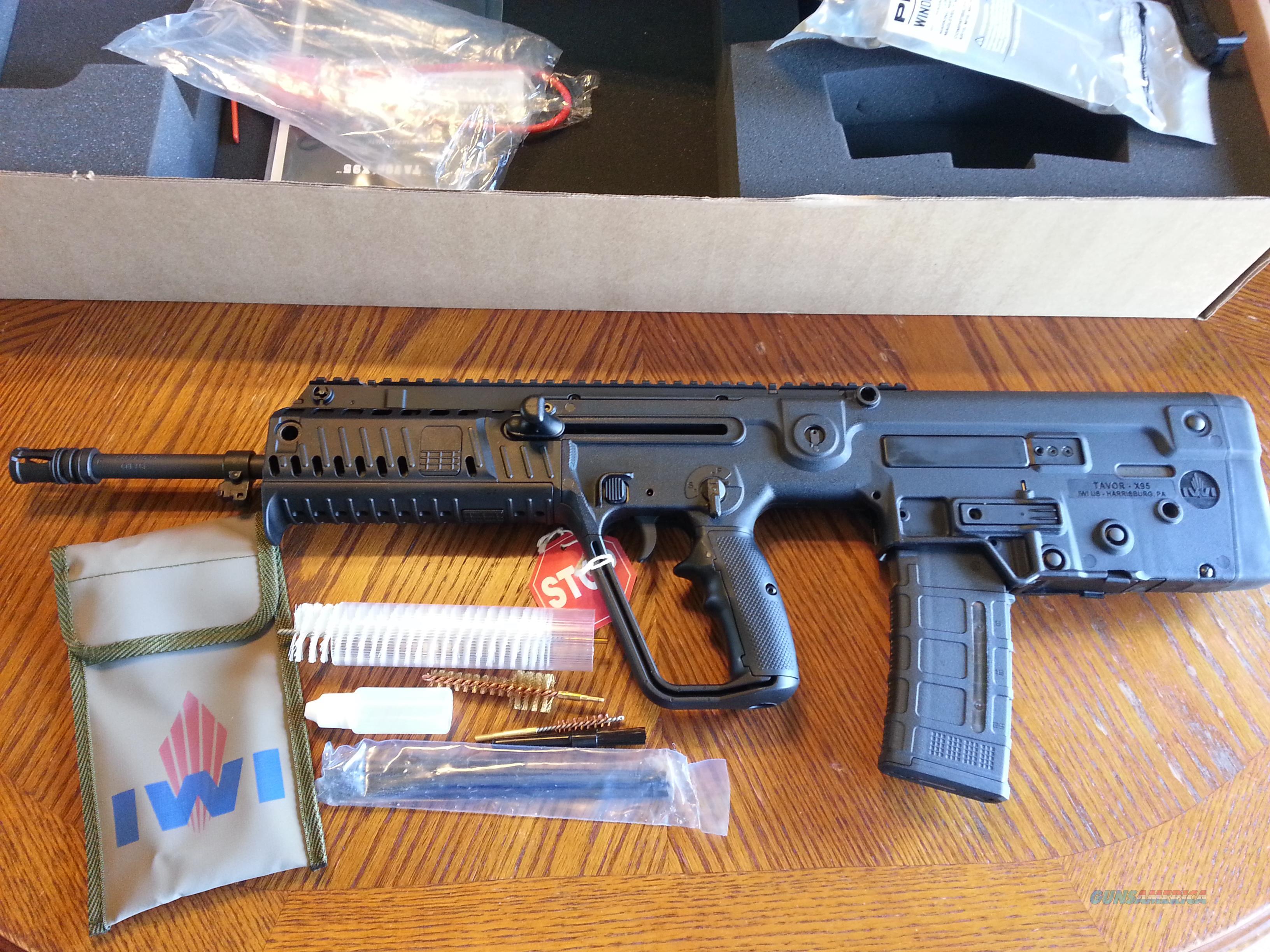 "IWI TAVOR X95 5.56/223,  SALE!! 18"" BULLPUP ,NEW TRIGGER,Lightweight, Front Rails, NIB, 30 Rd  Guns > Rifles > IWI Rifles"