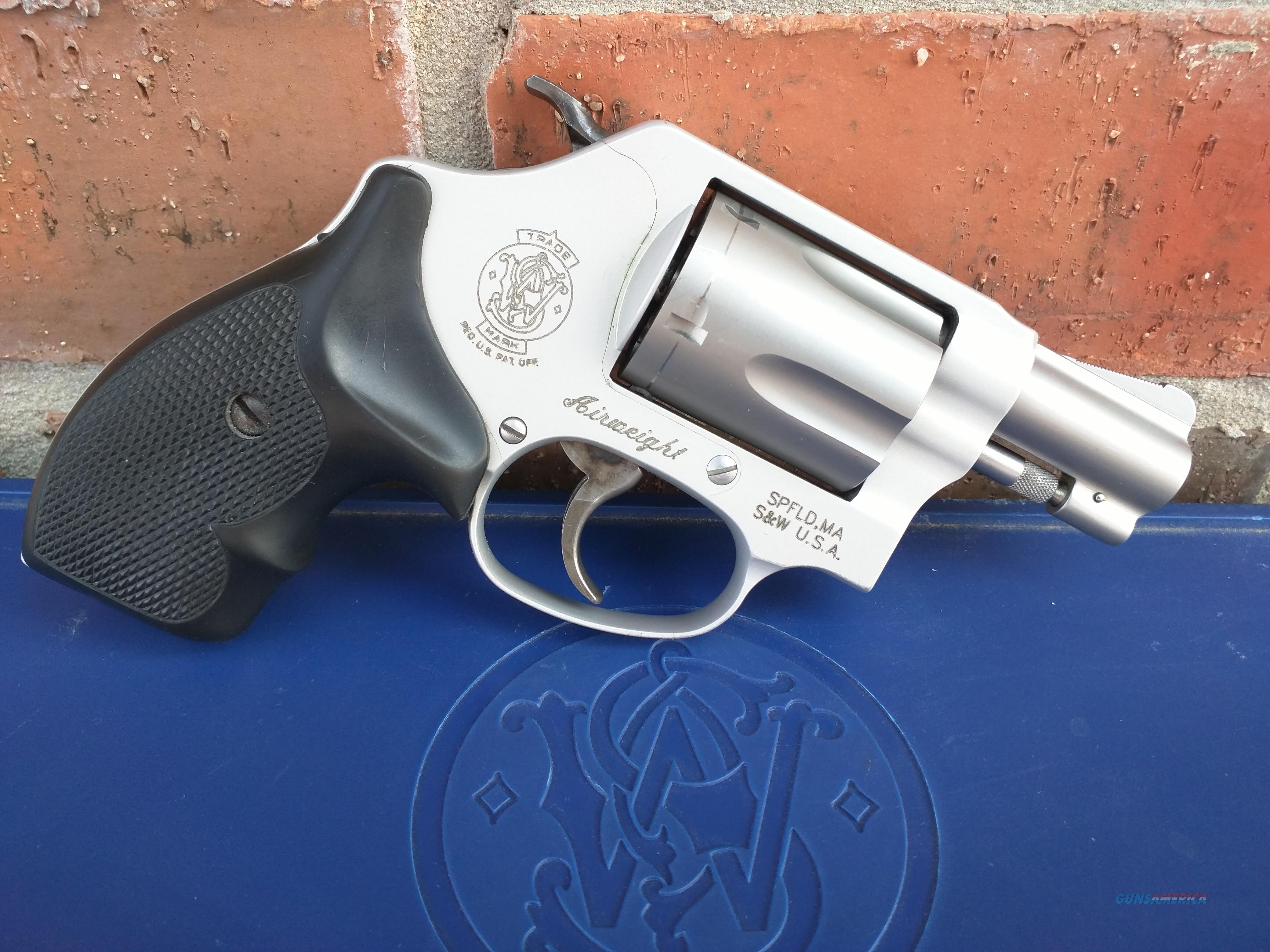 "Smith & Wesson S&W 637 Airweight .38 Special 1 7/8 "" snubnose, like new, great concealed carry.  FREE LAYAWAY  Guns > Pistols > Smith & Wesson Revolvers > Pocket Pistols"