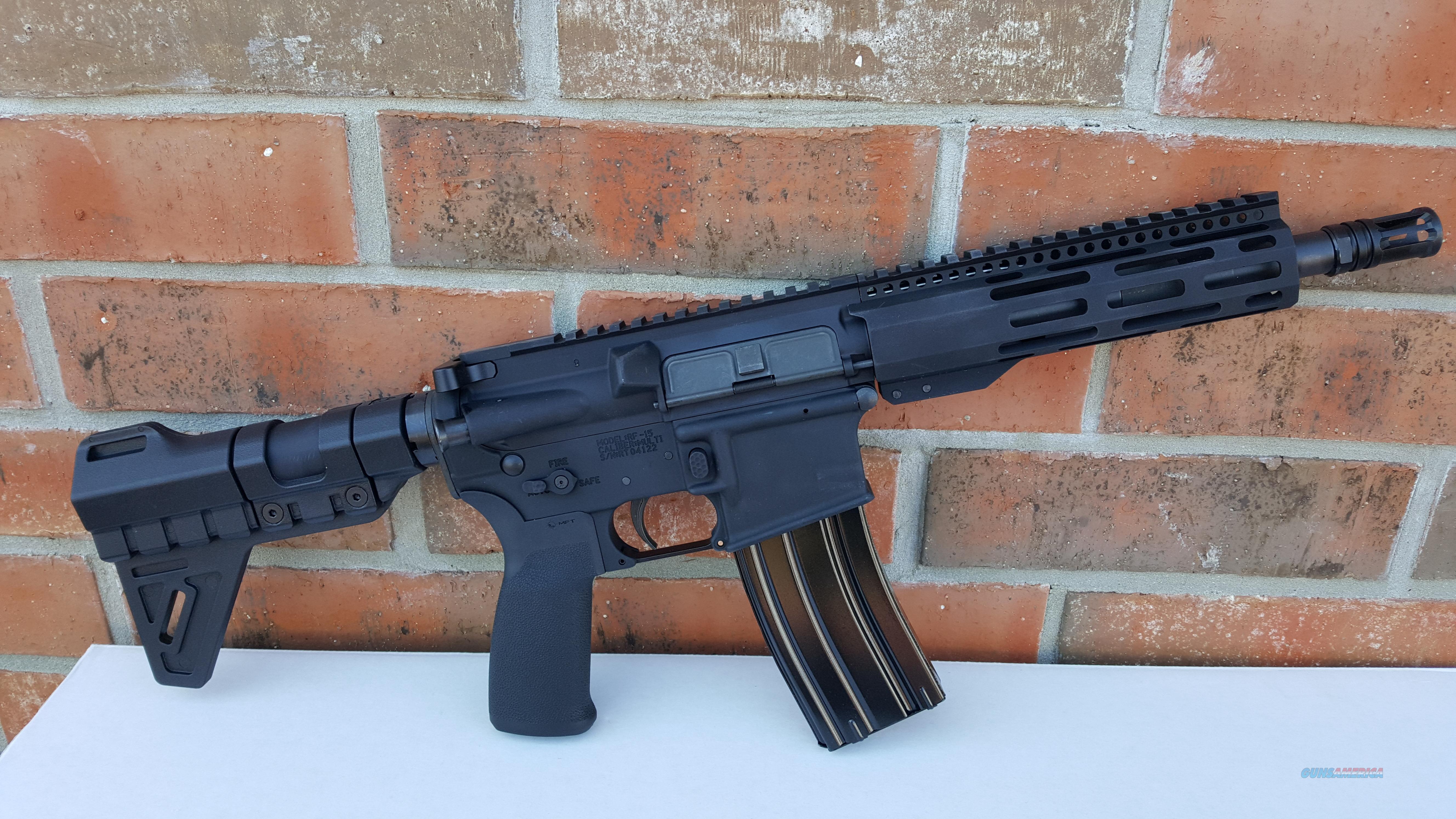 "Radical Firearms AR 15 AR15 Pistol 300 AAC Blackout 8.5"", Trinity Force PISTOL Blade, Alum. Hand Guard FREE LAYAWAY!!  Guns > Rifles > AR-15 Rifles - Small Manufacturers > Complete Rifle"