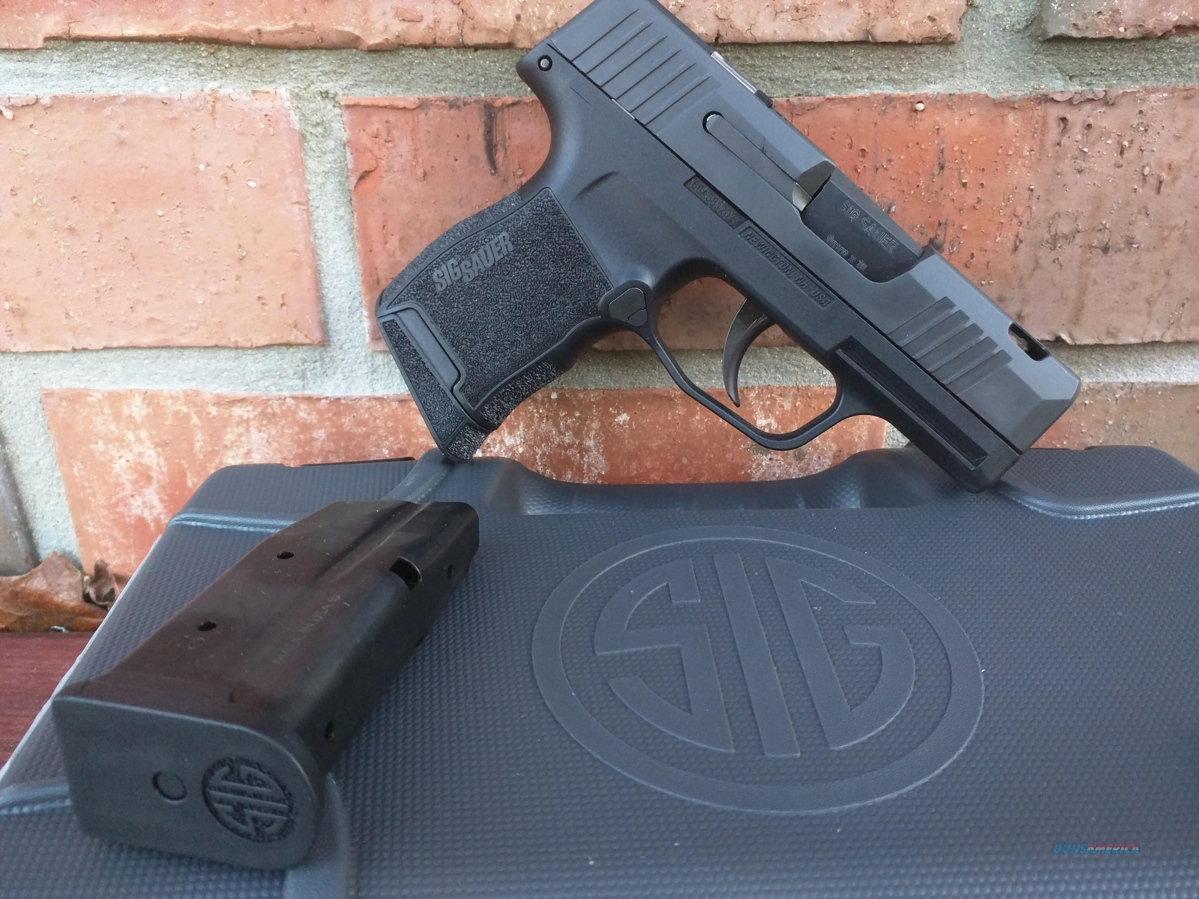SIG P365 SAS C 9mm Ported Barrel With FT Bullseye Built in Slide Green Dot Sight (2) 10 Rd Mags, FREE LAYAWAY!! IN STOCK!!  Guns > Pistols > Sig - Sauer/Sigarms Pistols > P365