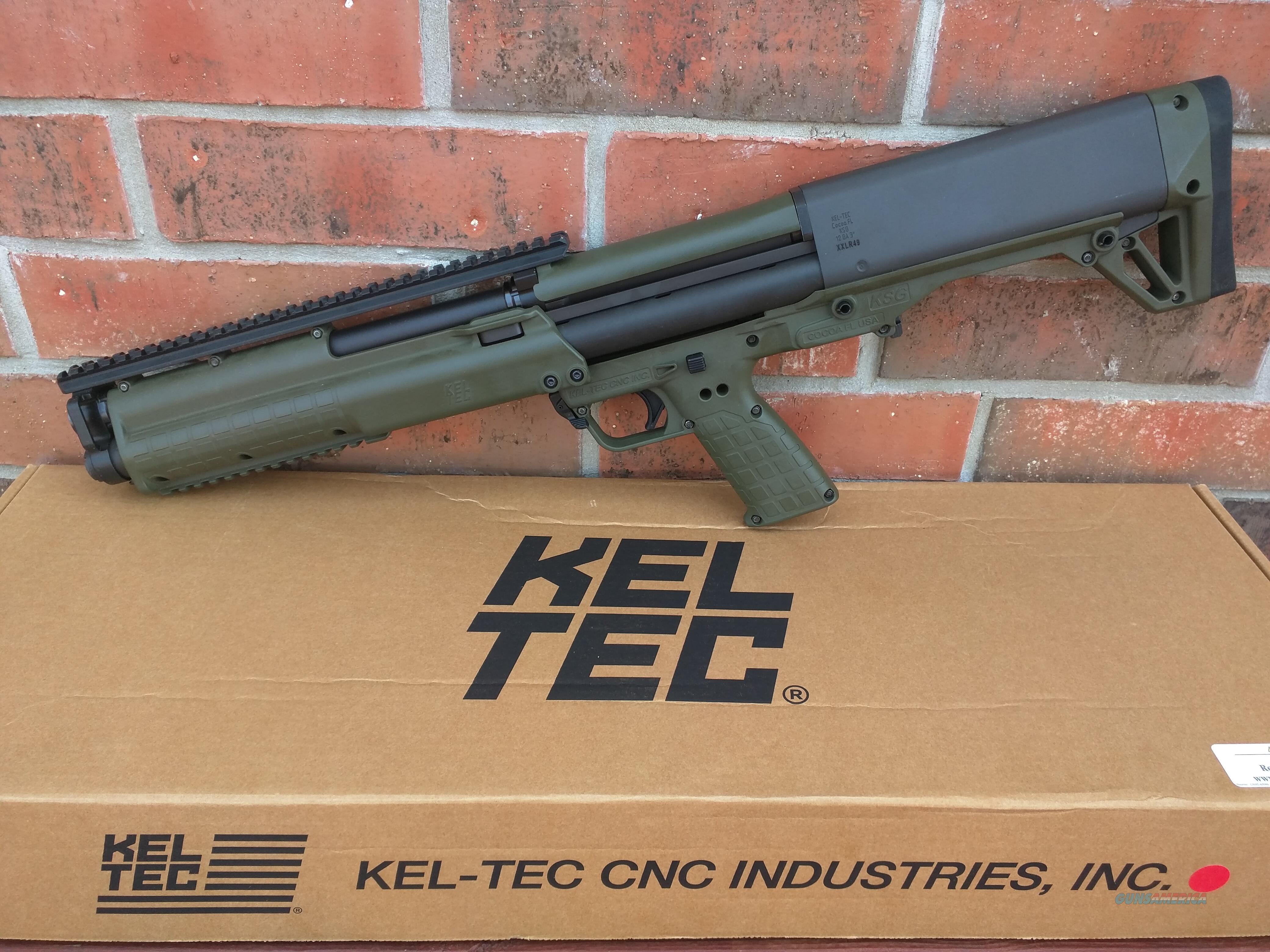 "Keltec KSG Green12 Gauge Pump 18.5"" 14+1 Capacity FREE LAYAWAY!! SALE!!  Guns > Shotguns > Kel-Tec Shotguns > KSG"