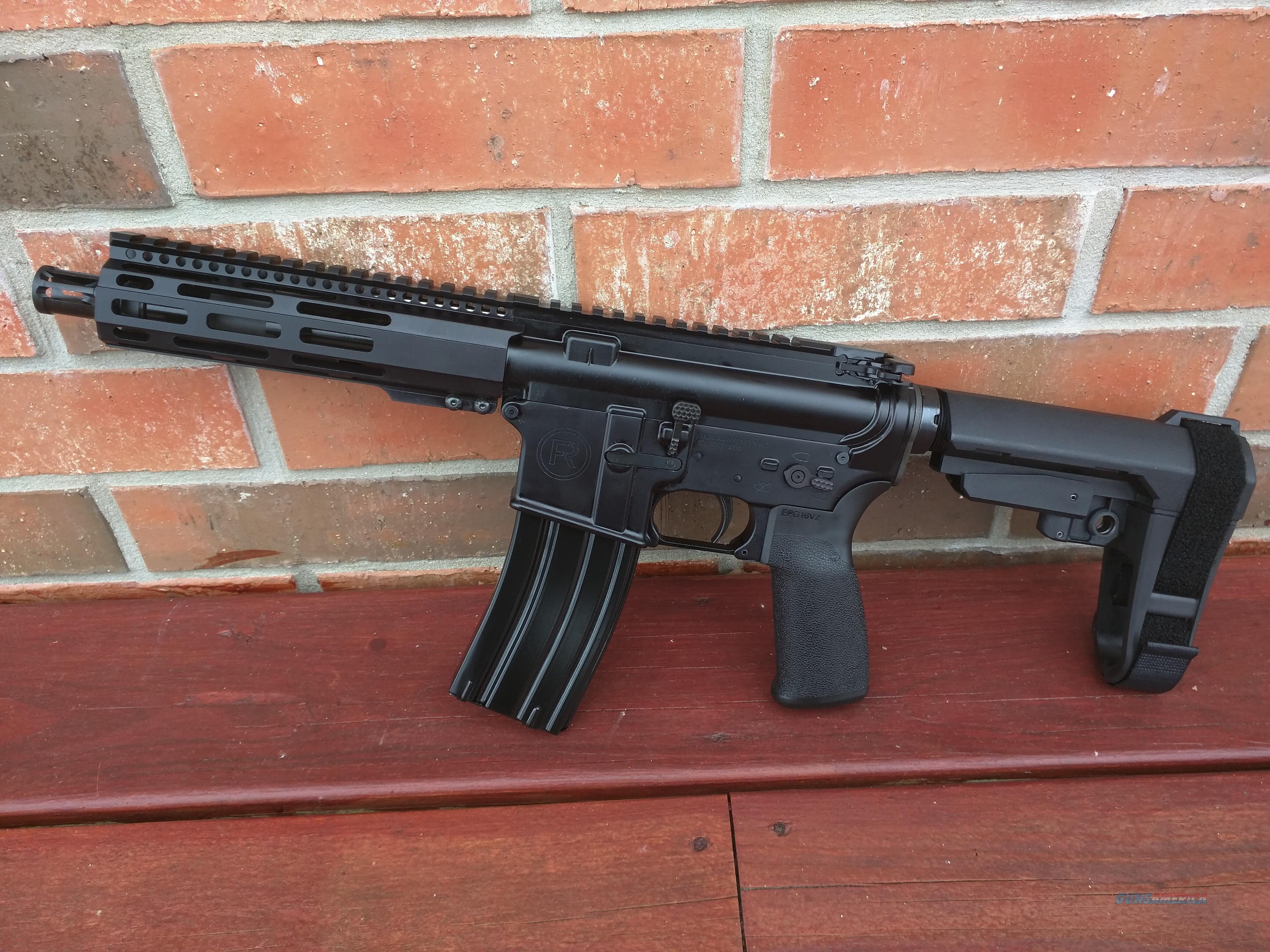"Radical Firearms AR15 AR 15 Pistol 5.56/223 7.5"" SB Tactical SBA3 Adj. Pistol Brace Alum. Hand Guard FREE LAYAWAY!!  Guns > Rifles > AR-15 Rifles - Small Manufacturers > Complete Rifle"