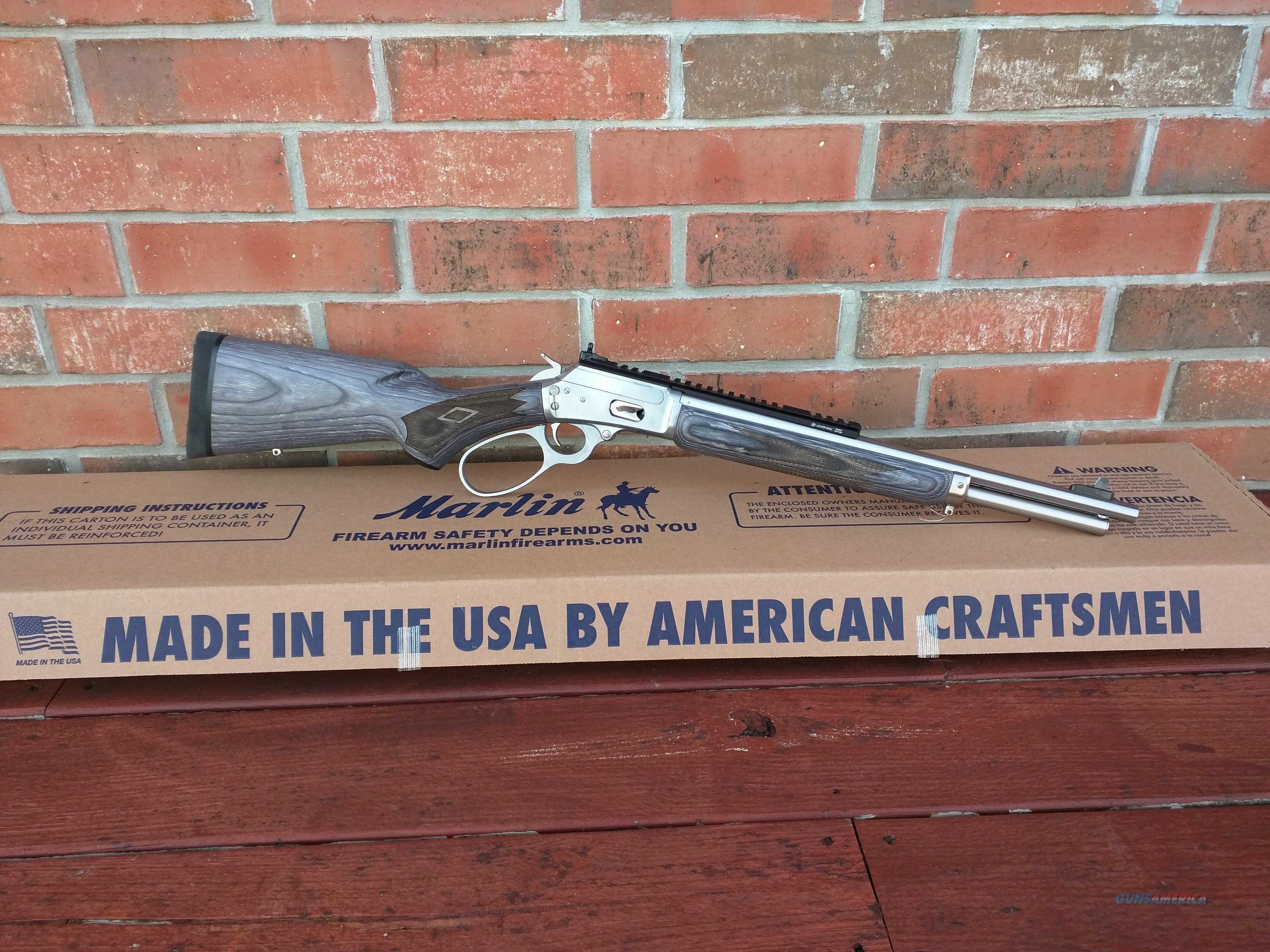 """Marlin 1894SBL Lever action, 44 mag/44 S&W, Stainless/Black Gray, 16.5""""BBL Model  FREE LAYAWAY  Guns > Rifles > Marlin Rifles > Modern > Lever Action"""
