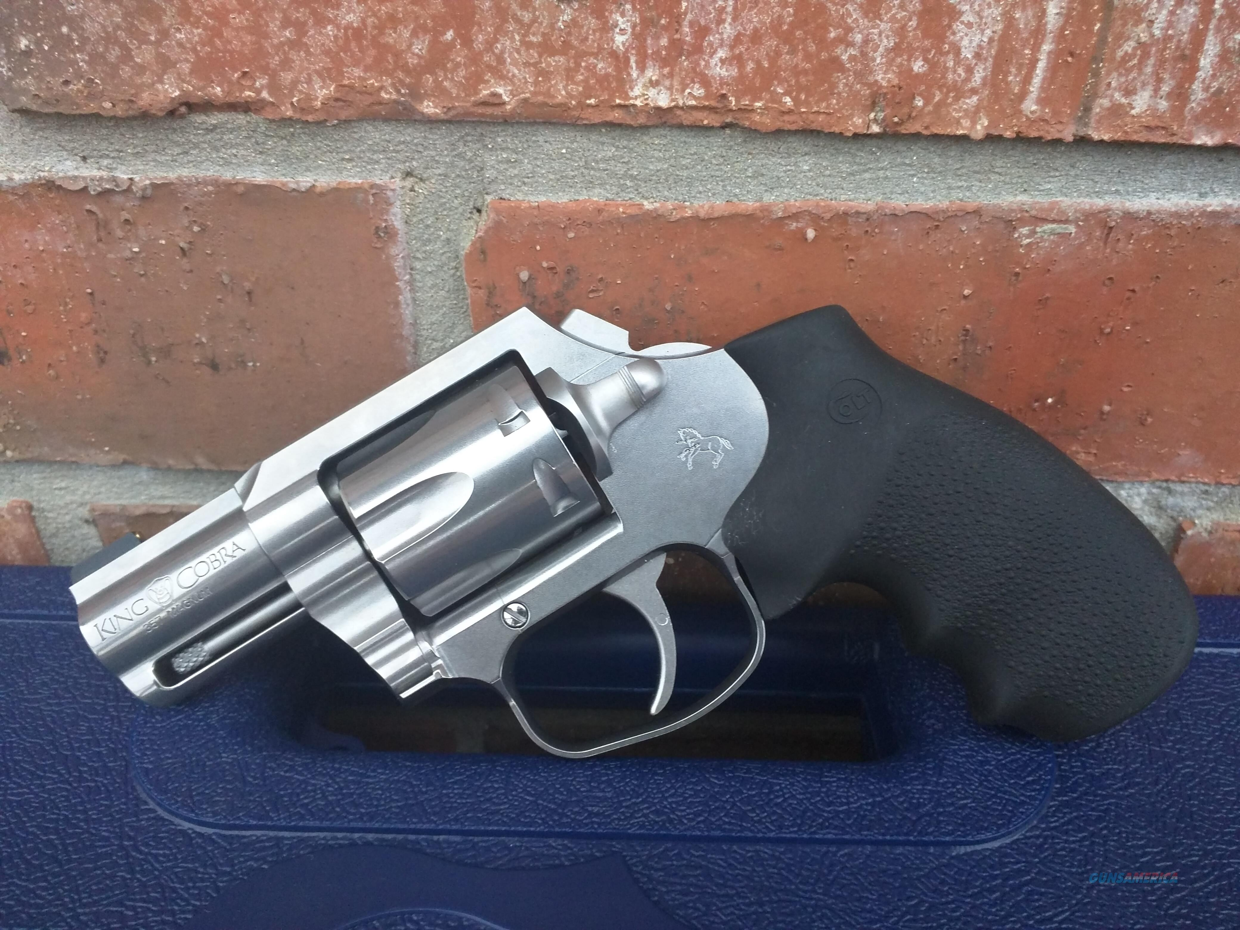 """Colt King Cobra .357 Mag/.38 Special, 6 Shot, 2"""" Barrel, Stainless Steel. THE KING IS BACK! FREE LAYAWAY  Guns > Pistols > Colt Double Action Revolvers- Modern"""