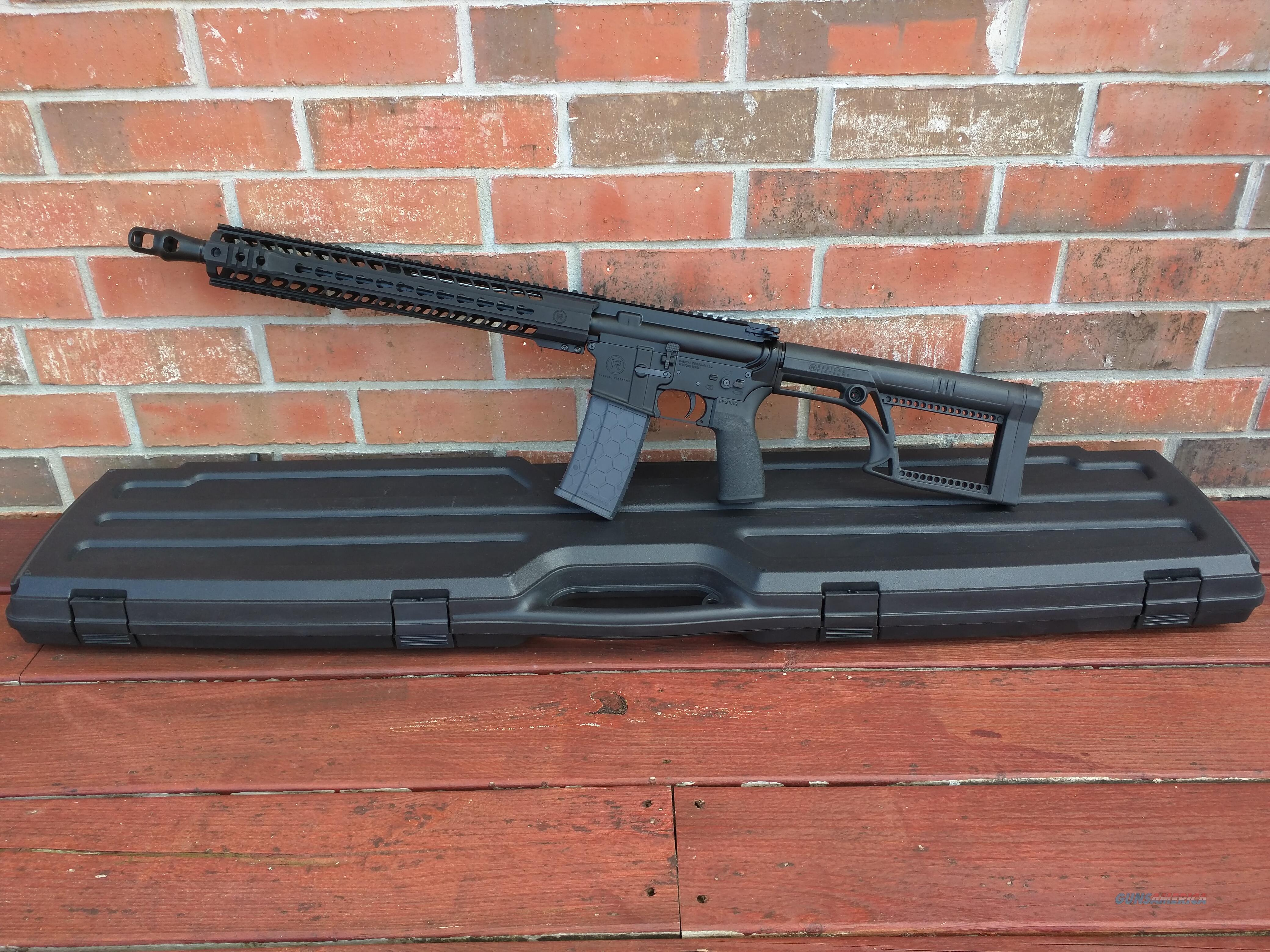"Radical Firearms AR15 AR 15 458 Socom 16"" with Muzzle Brake, NIB with Hard Case, Alum. 15"" Handguard Rails For Optics ECT FREE LAYAWAY  Guns > Rifles > AR-15 Rifles - Small Manufacturers > Complete Rifle"