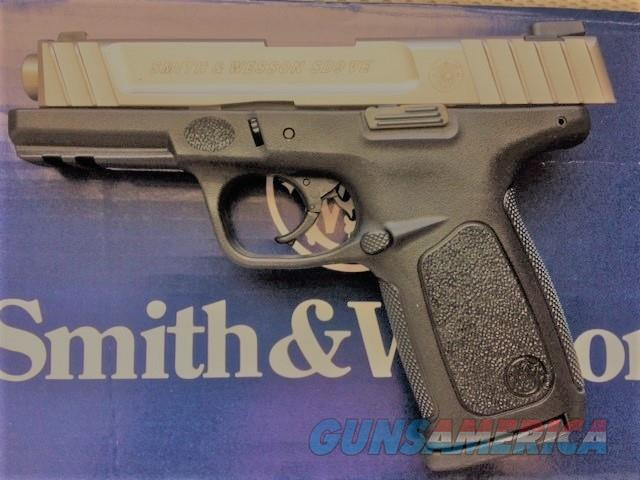 "Smith & Wesson SD VE Double 9mm 4"" 16+1 3-Dot Black Polymer Grip/Frame Stainless Steel  Guns > Pistols > Smith & Wesson Pistols - Autos > Polymer Frame"