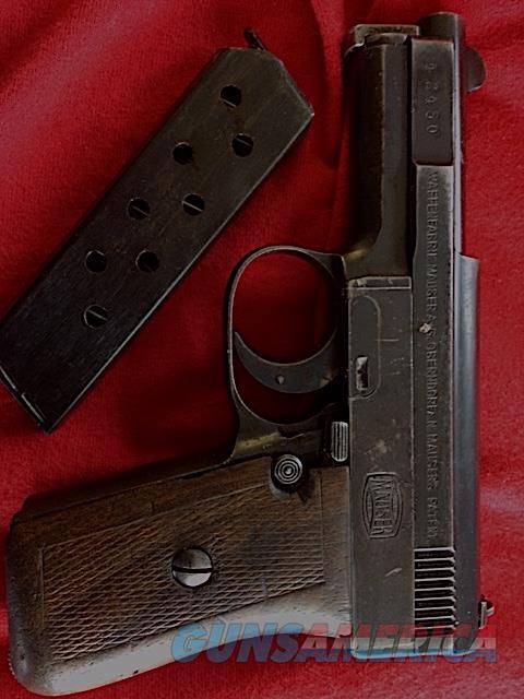 Mauser Model 1910 Pistol - 6.35mm  Guns > Pistols > Mauser Pistols