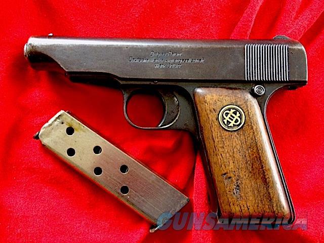 Deutsche Werks ORTGIES 7.65mm. Serial 54930  Guns > Pistols > Military Misc. Pistols Non-US