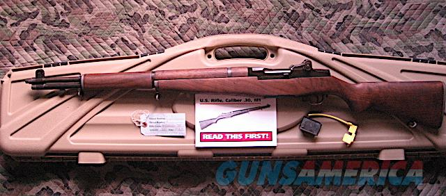 M1 Garand Rifle with Civilian Marksmanship Program (CMP) Vetted Late model Springfield M1 Garand (1953) with good muzzle reading. Very Accurate.  Guns > Rifles > Springfield Armory Rifles > M1 Garand