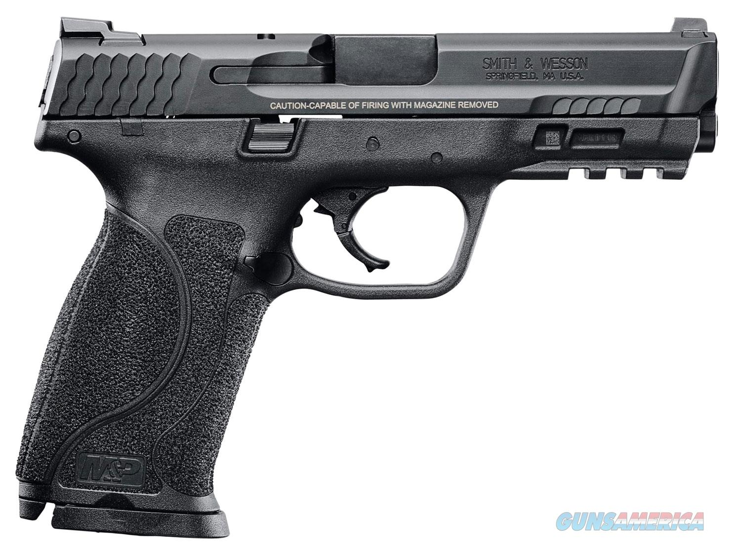 "S&W M&P 2.0 9MM 4.25"" 17R BL NMS TS  Guns > Pistols > Smith & Wesson Pistols - Autos > Polymer Frame"