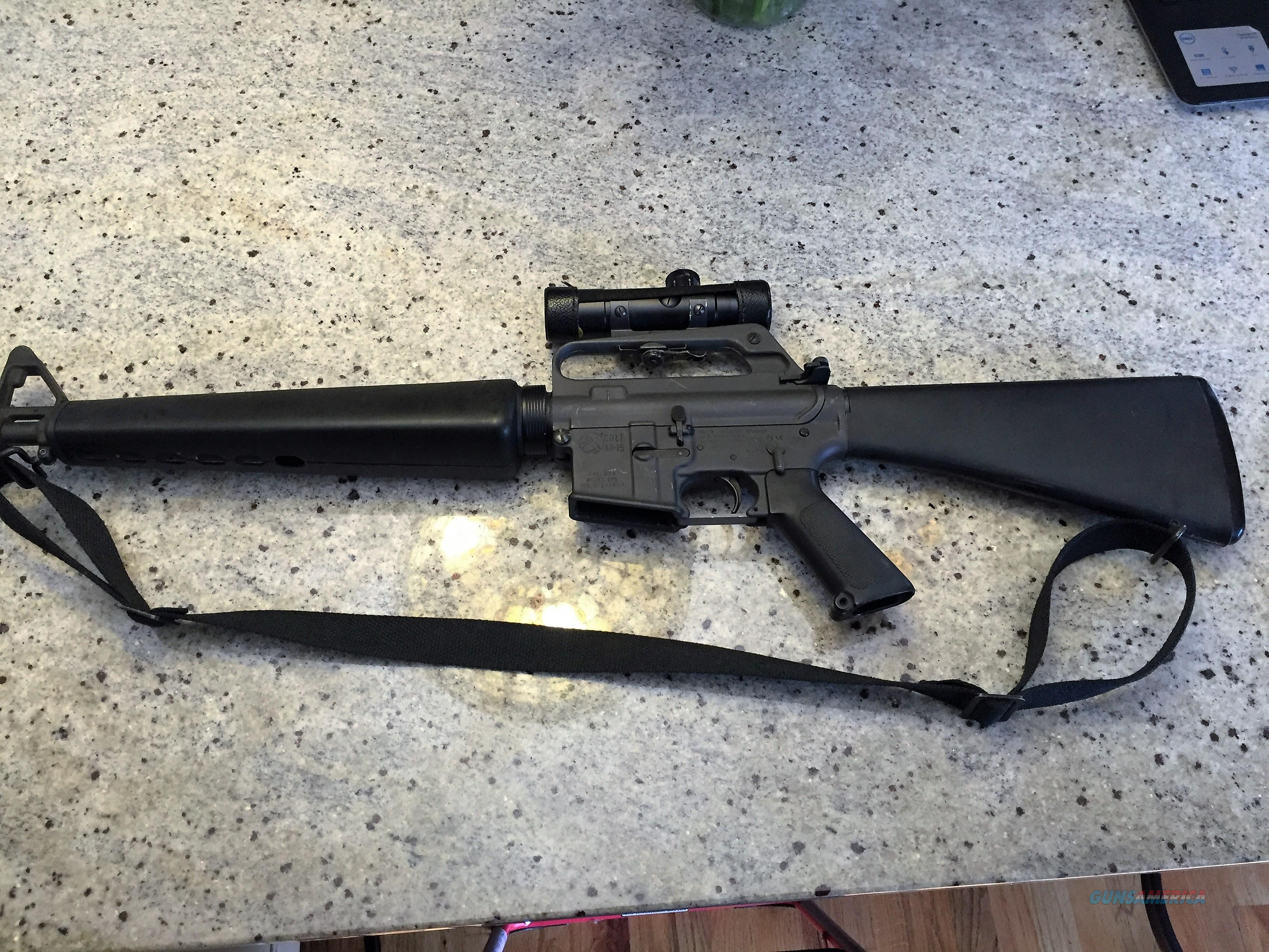 COLT SP1 5.56 AR15 WITH COLT COLT 3X20 SCOPE  Guns > Rifles > AR-15 Rifles - Small Manufacturers > Complete Rifle