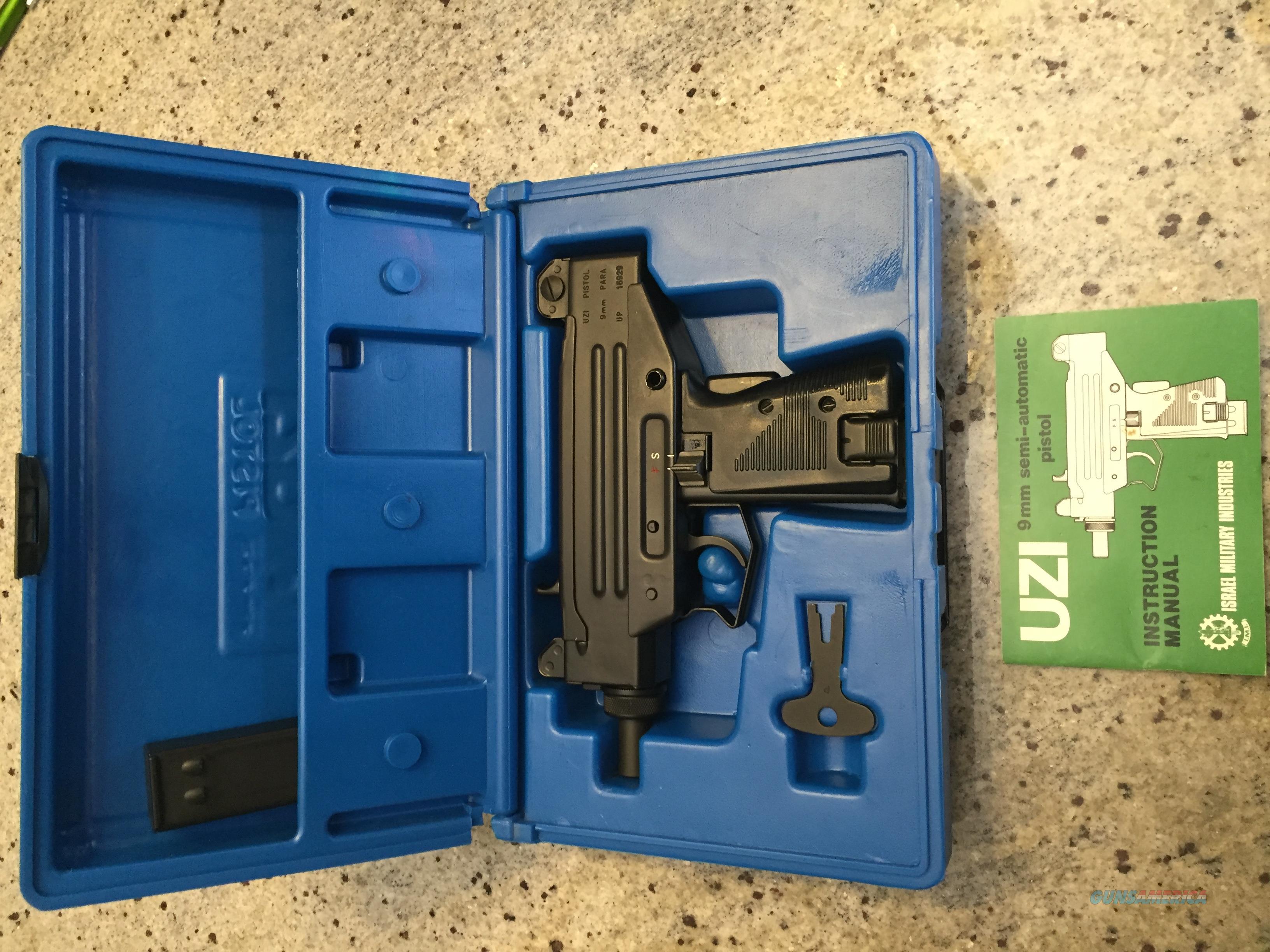 IMI Micro Uzi 9mm Pistol LNIB   Guns > Pistols > IMI Pistols