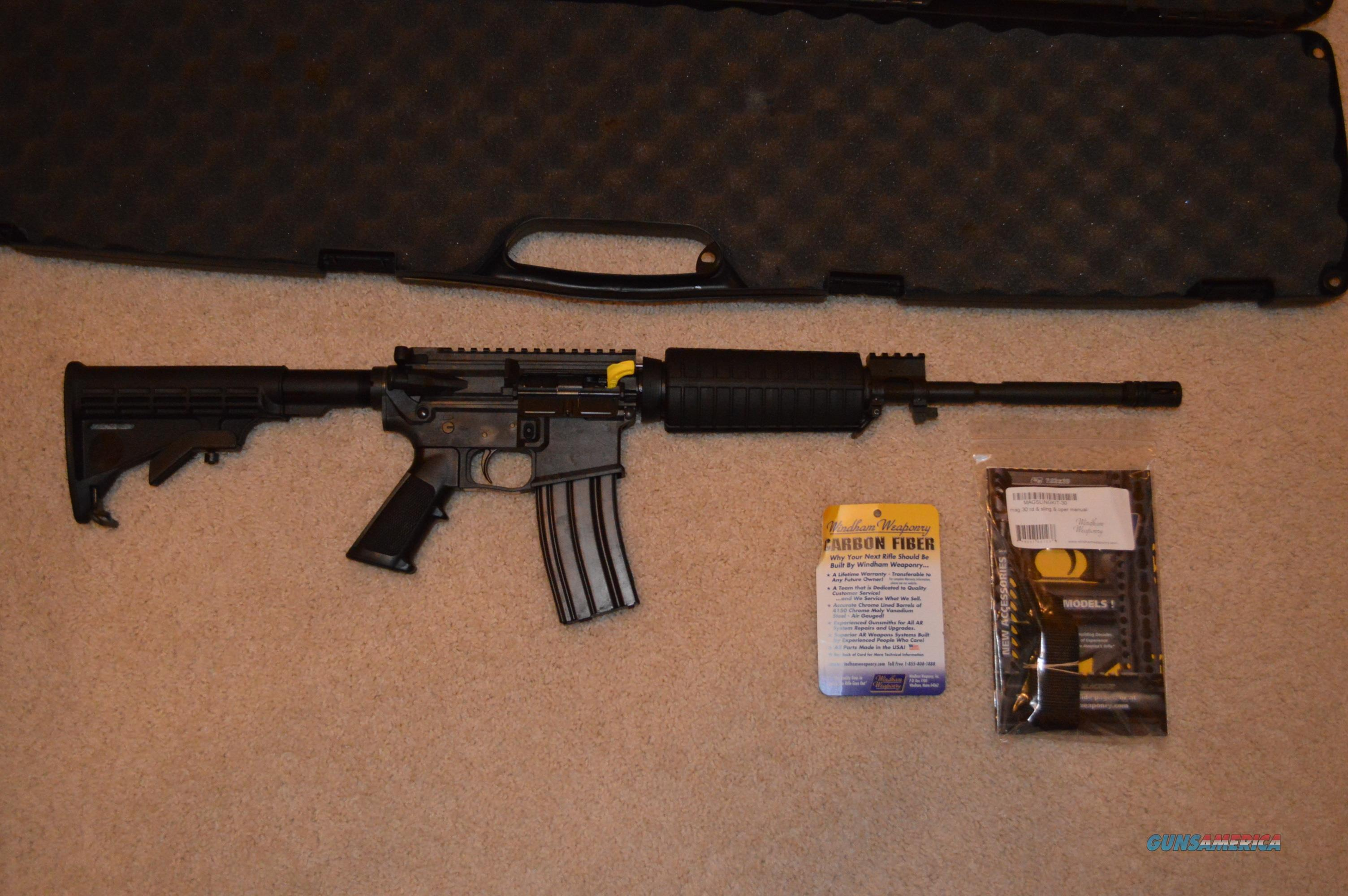AR15 Windham Weaponry Carbon SRC CF1  Guns > Rifles > AR-15 Rifles - Small Manufacturers > Complete Rifle