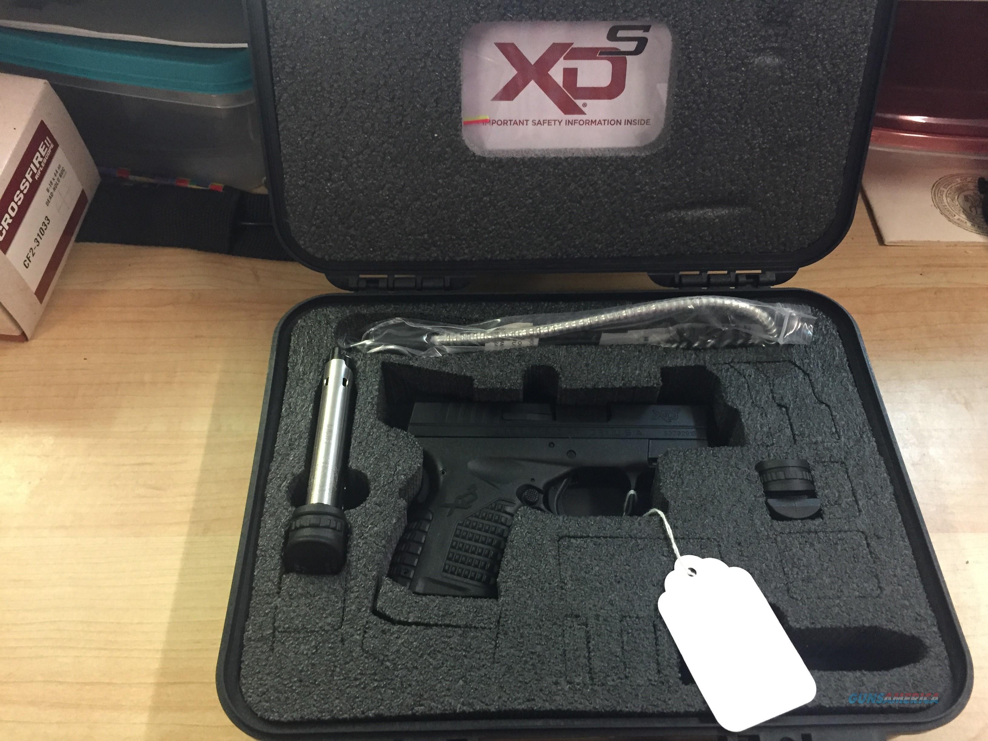 Springfield XDS 9MM DAO PST 3.3B 8R  Guns > Pistols > Springfield Armory Pistols > XD-S