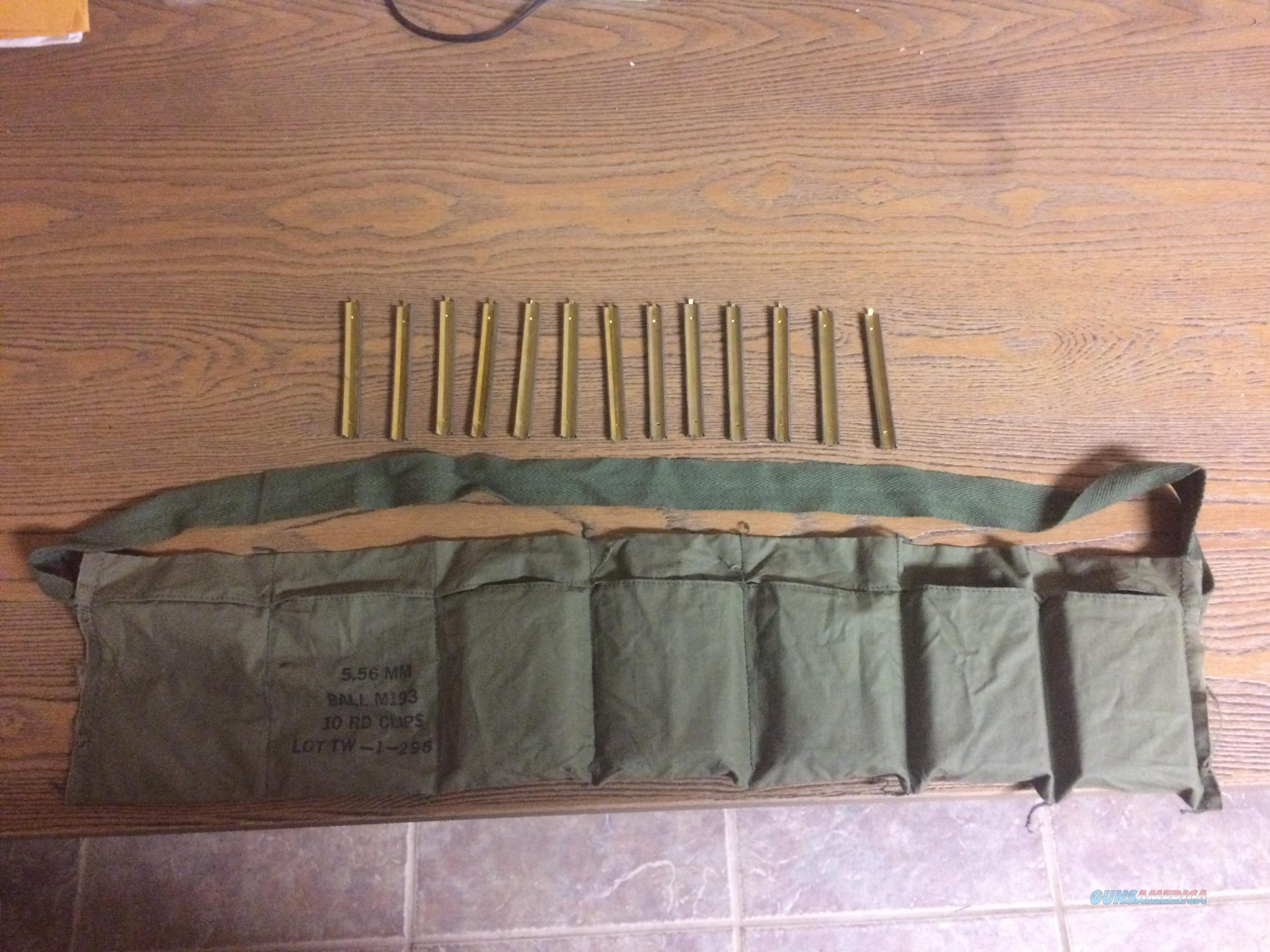 .223 13-10RD STRIPPER CLIPS AND 5.56 NATO BANDOLIER  Non-Guns > Magazines & Clips > Rifle Magazines > AR-15 Type