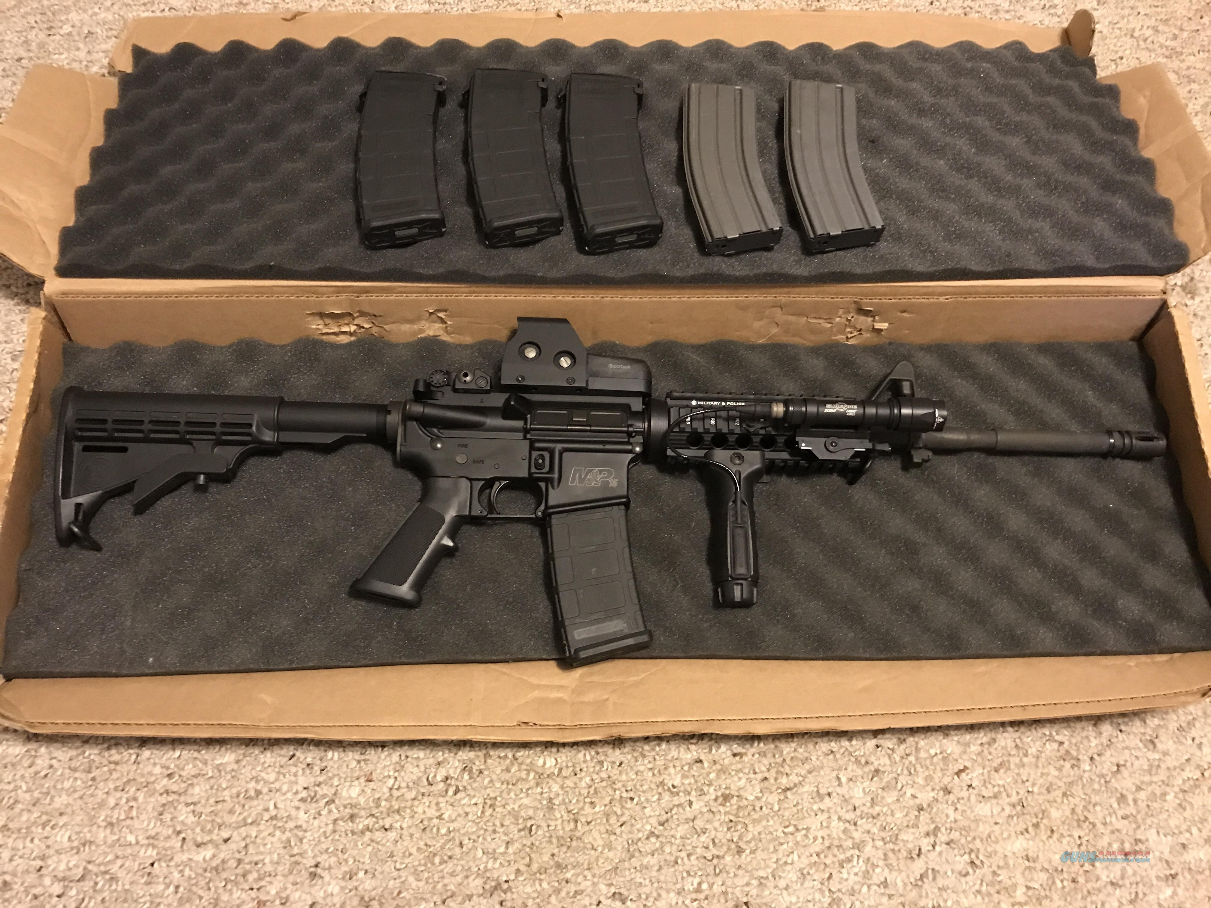 Smith&Wesson M&P 15X 5.56 NATO (with extras)  Guns > Rifles > Smith & Wesson Rifles > M&P
