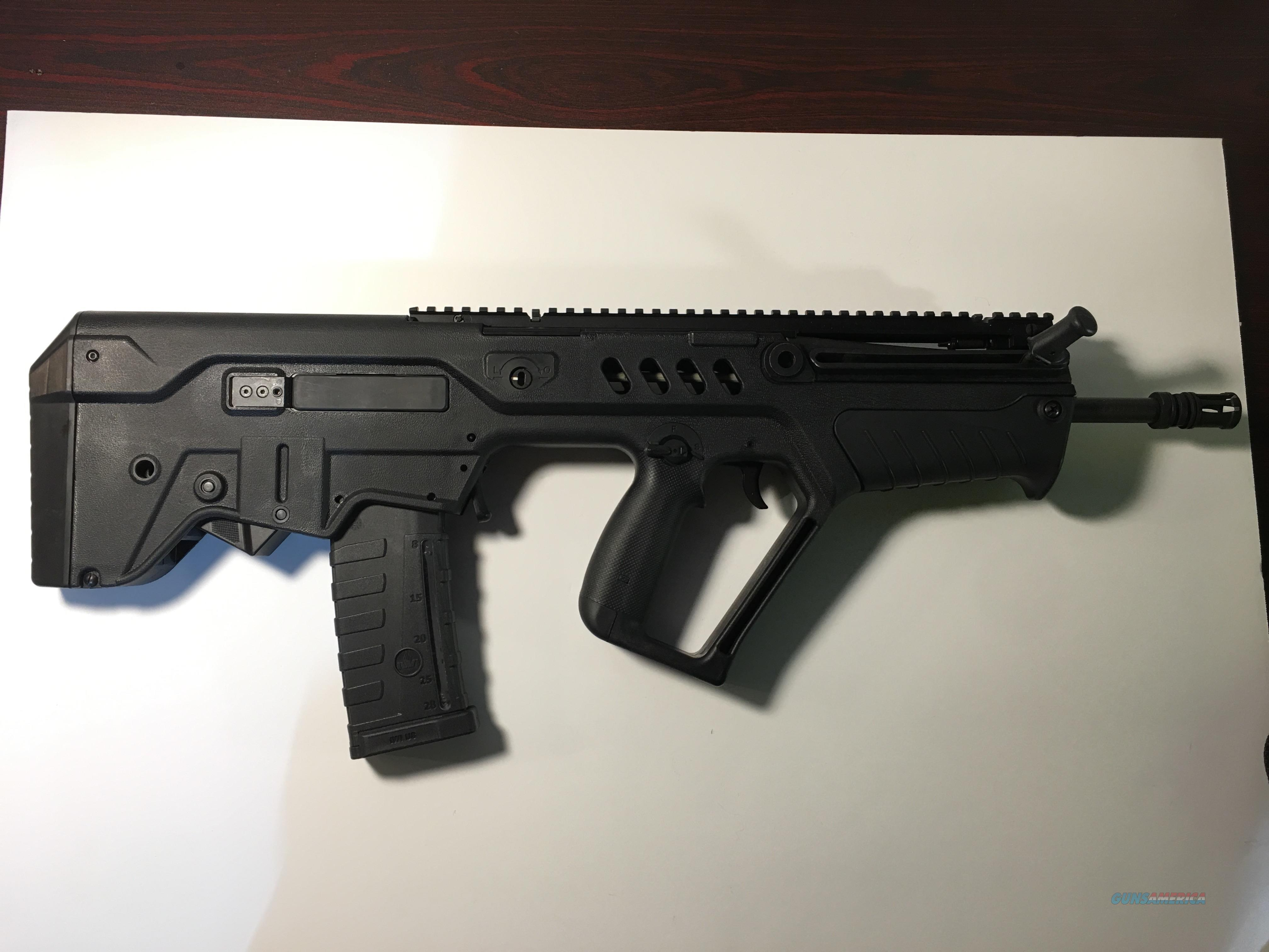 IWI Tavor SAR Left Handed like new Black with case  Guns > Rifles > IWI