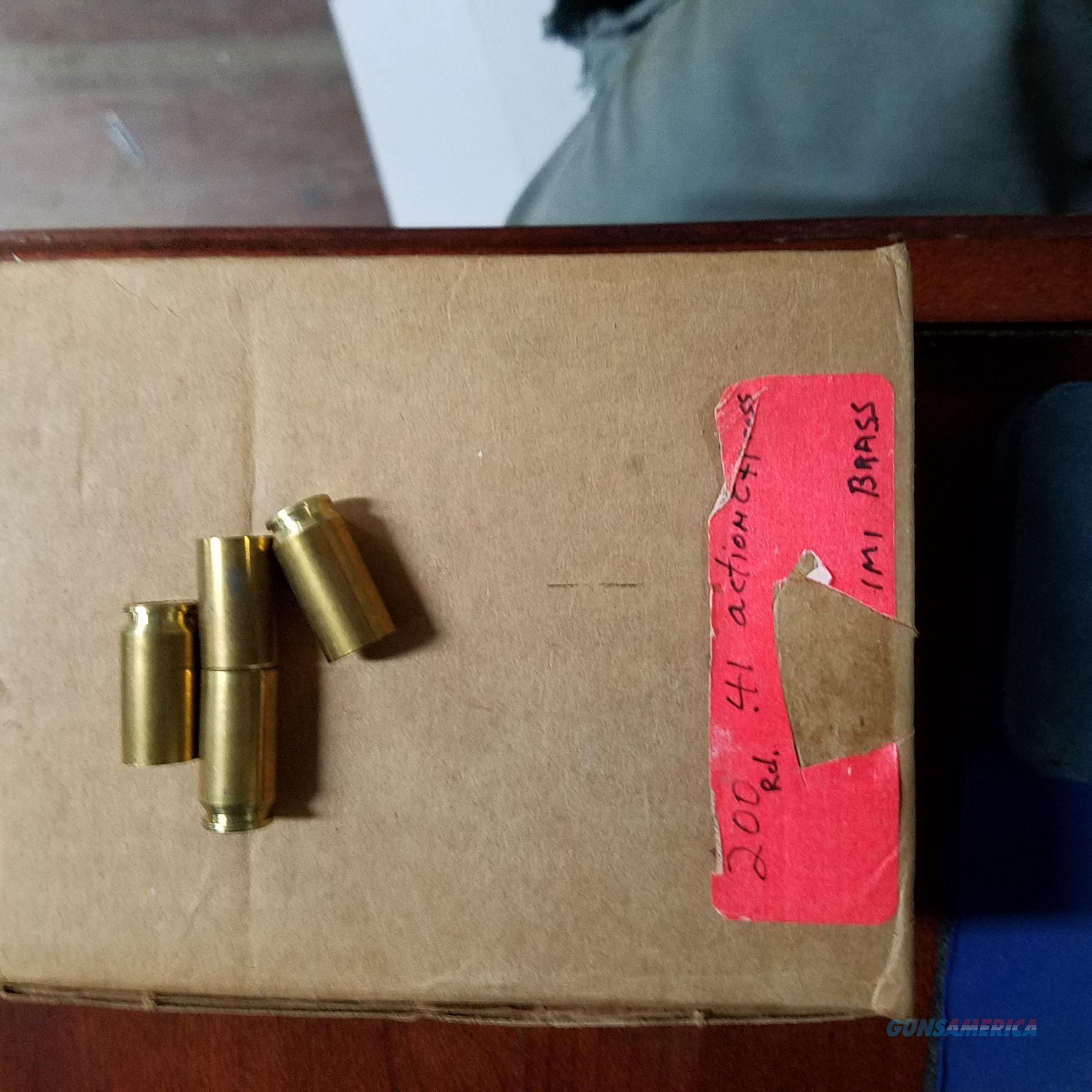 41 A&E Brass   Non-Guns > Bullet Making Supplies