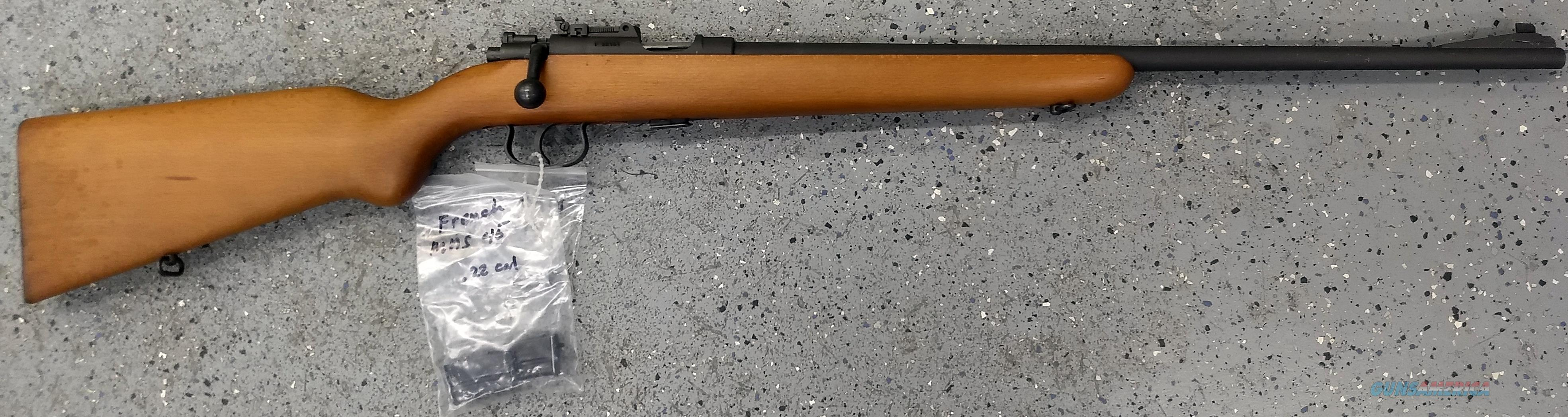 MAS 54 .22 lr Early 1950's Mint  Guns > Rifles > Military Misc. Rifles Non-US > FrenchMAS