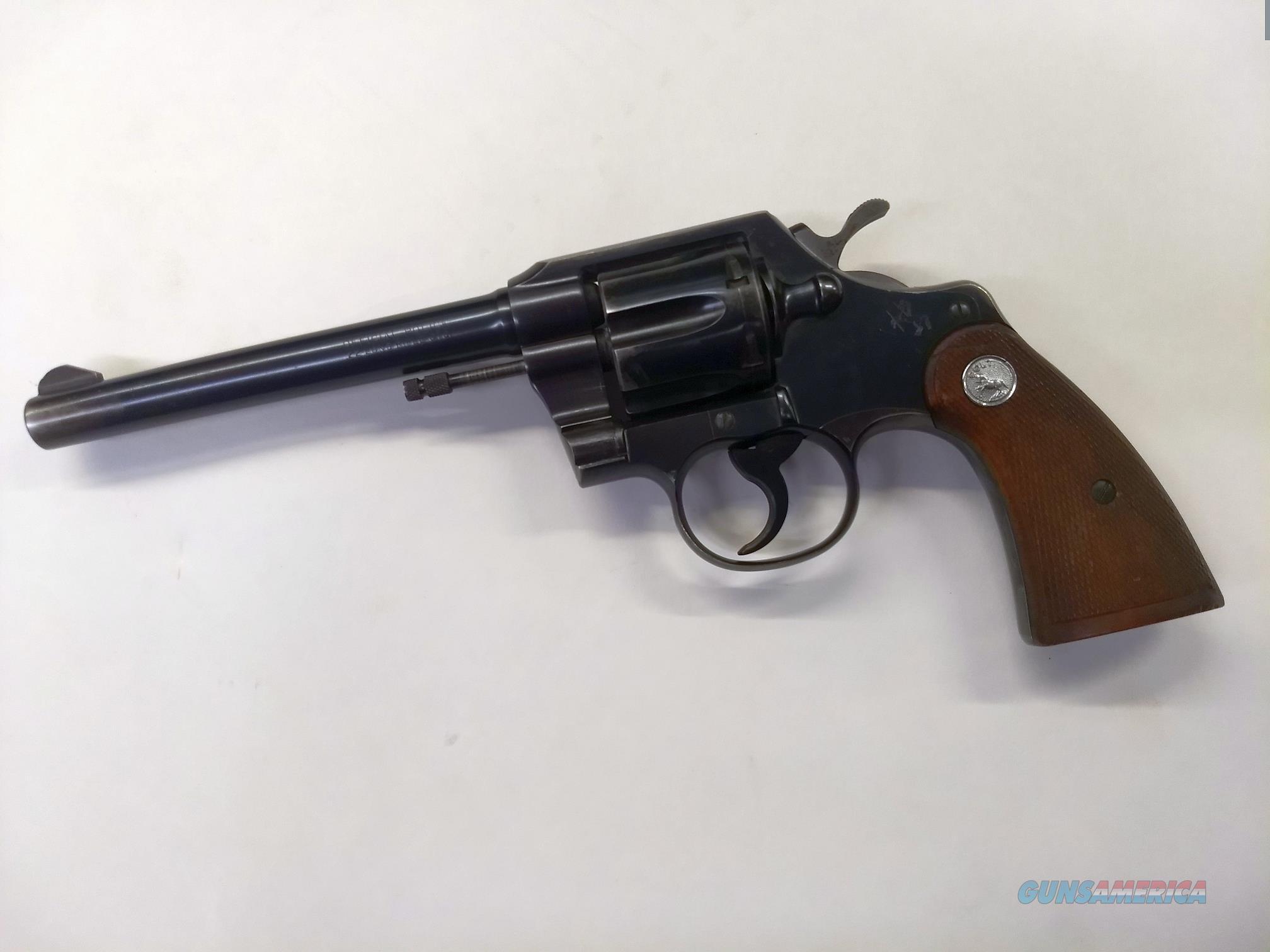 "COLT Official Police Revolver .22 lr CTG 6""  Guns > Pistols > Colt Double Action Revolvers- Modern"
