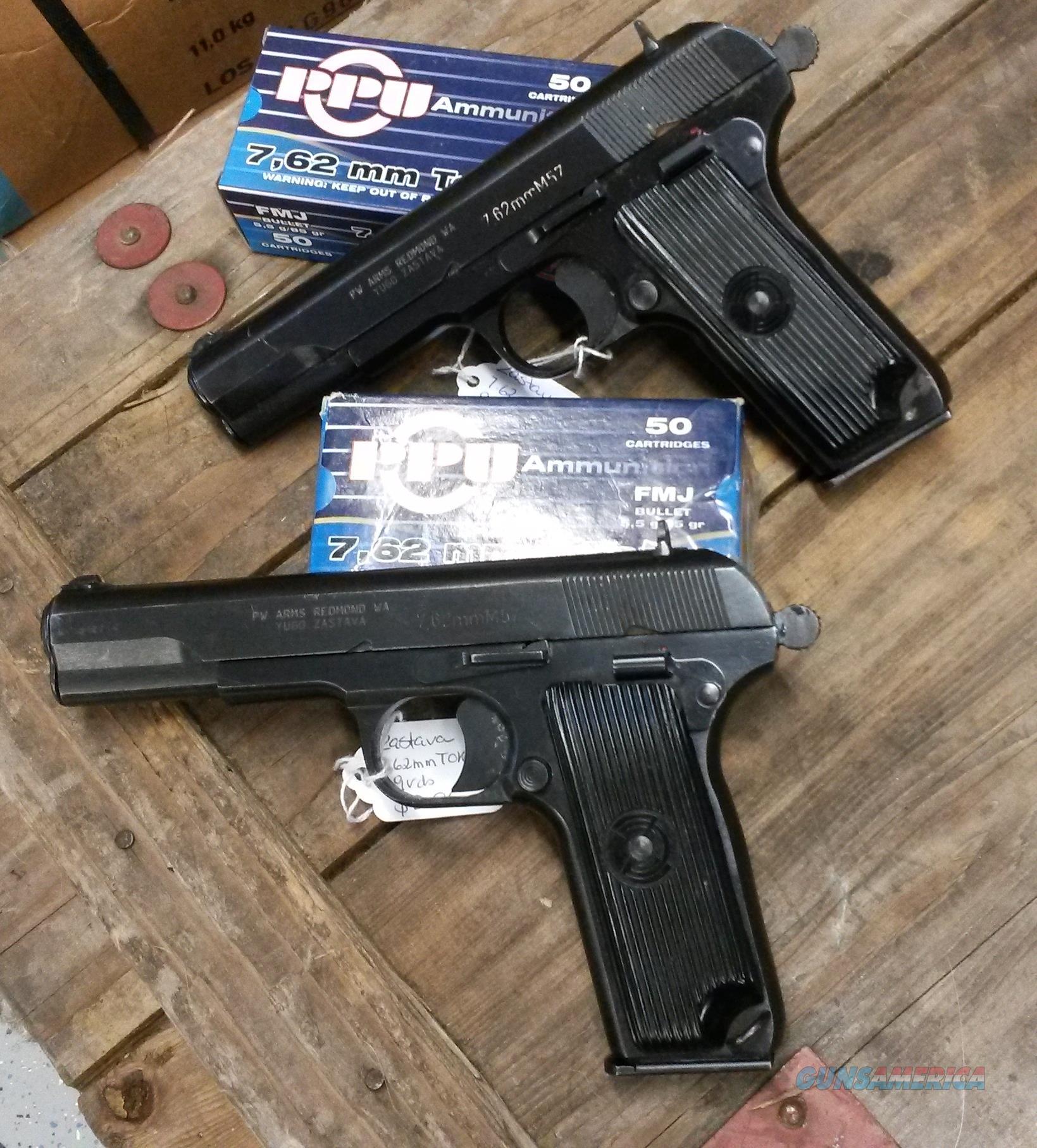 M57 Yugo Zastava Pistol Cal. 7.62x25mm (Tokarev... For Sale
