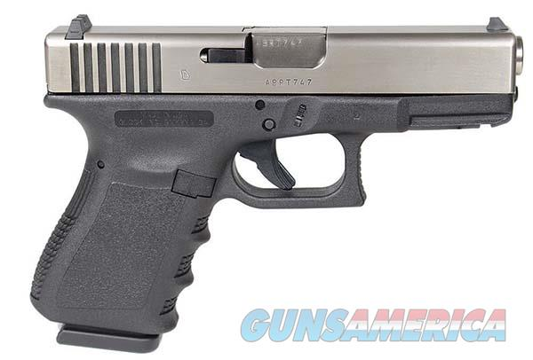 "G19 GEN3 COMPACT 9MM 4"" 2/15RD USA NIBONE BATTLE WORN  Guns > Pistols > Glock Pistols > 19"