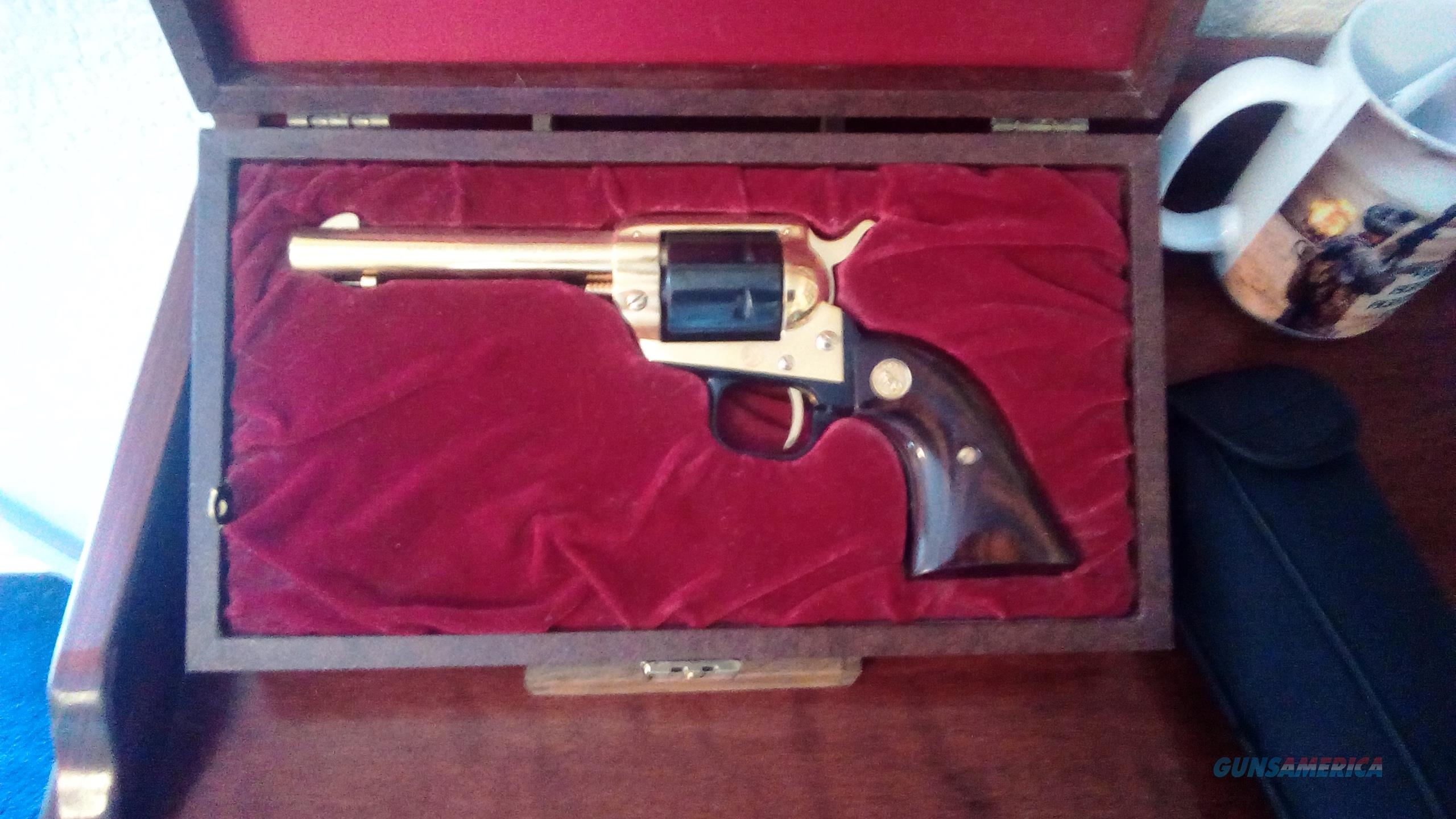 Colt Frontier Scout Gen. Nathan Bedford Forrest commemorative in box  Guns > Pistols > Colt Single Action Revolvers - Modern (22 Cal.)
