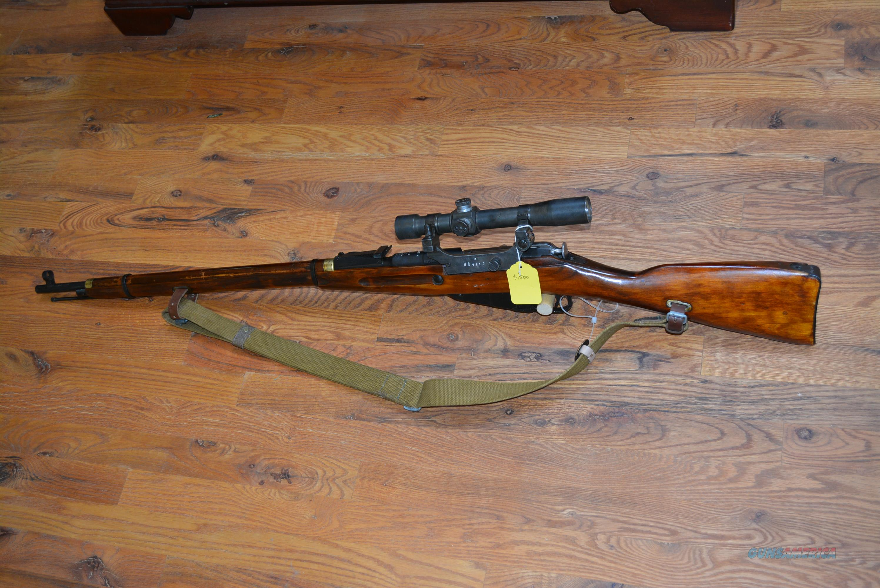 Russian Tula Mosin Nagant 91/30 PEM Sniper Rifle  Guns > Rifles > Mosin-Nagant Rifles/Carbines