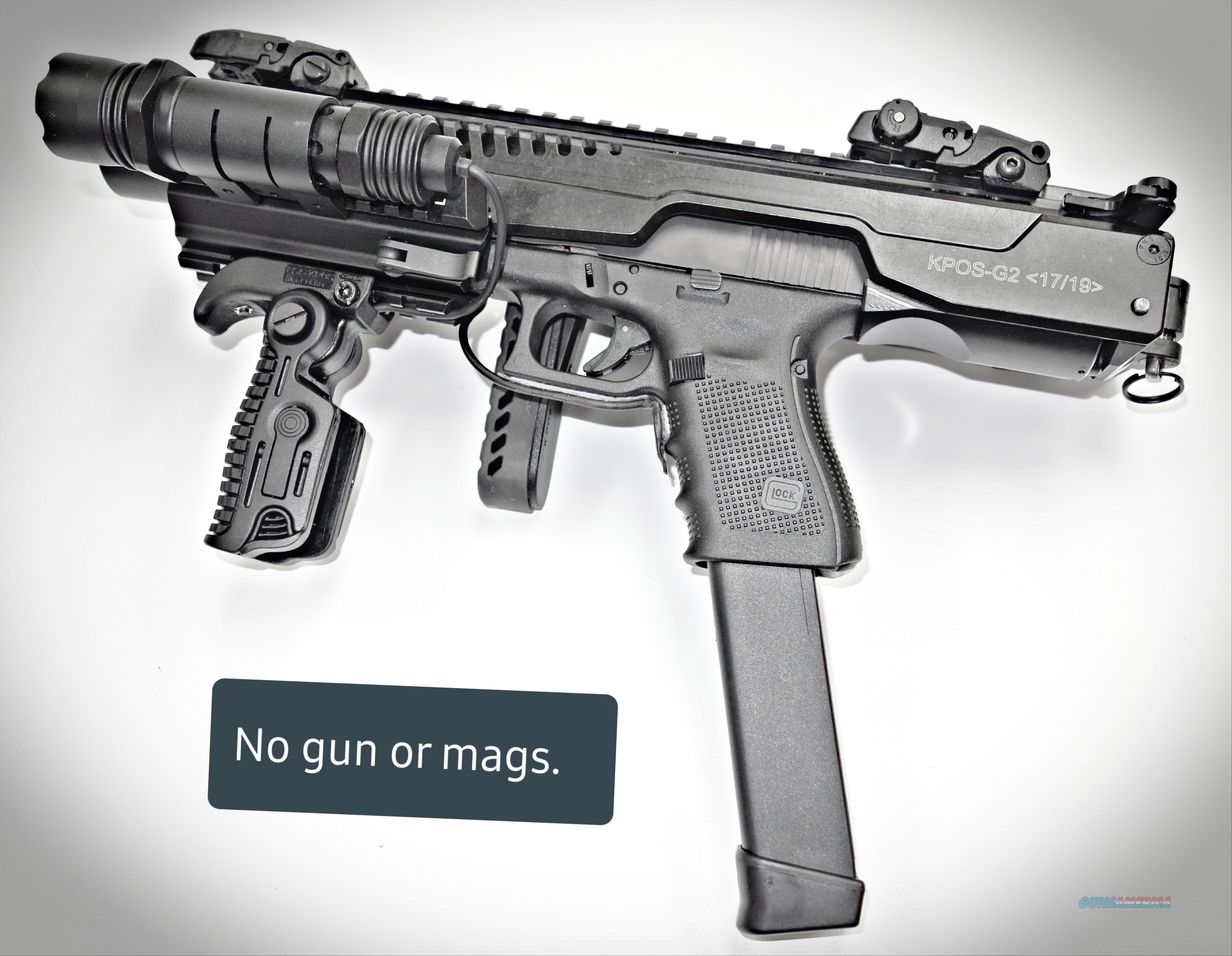 KPOS 17/19, Gen 2, with Custom Enhancements, FAB  Non-Guns > Gun Parts > Misc > Pistols