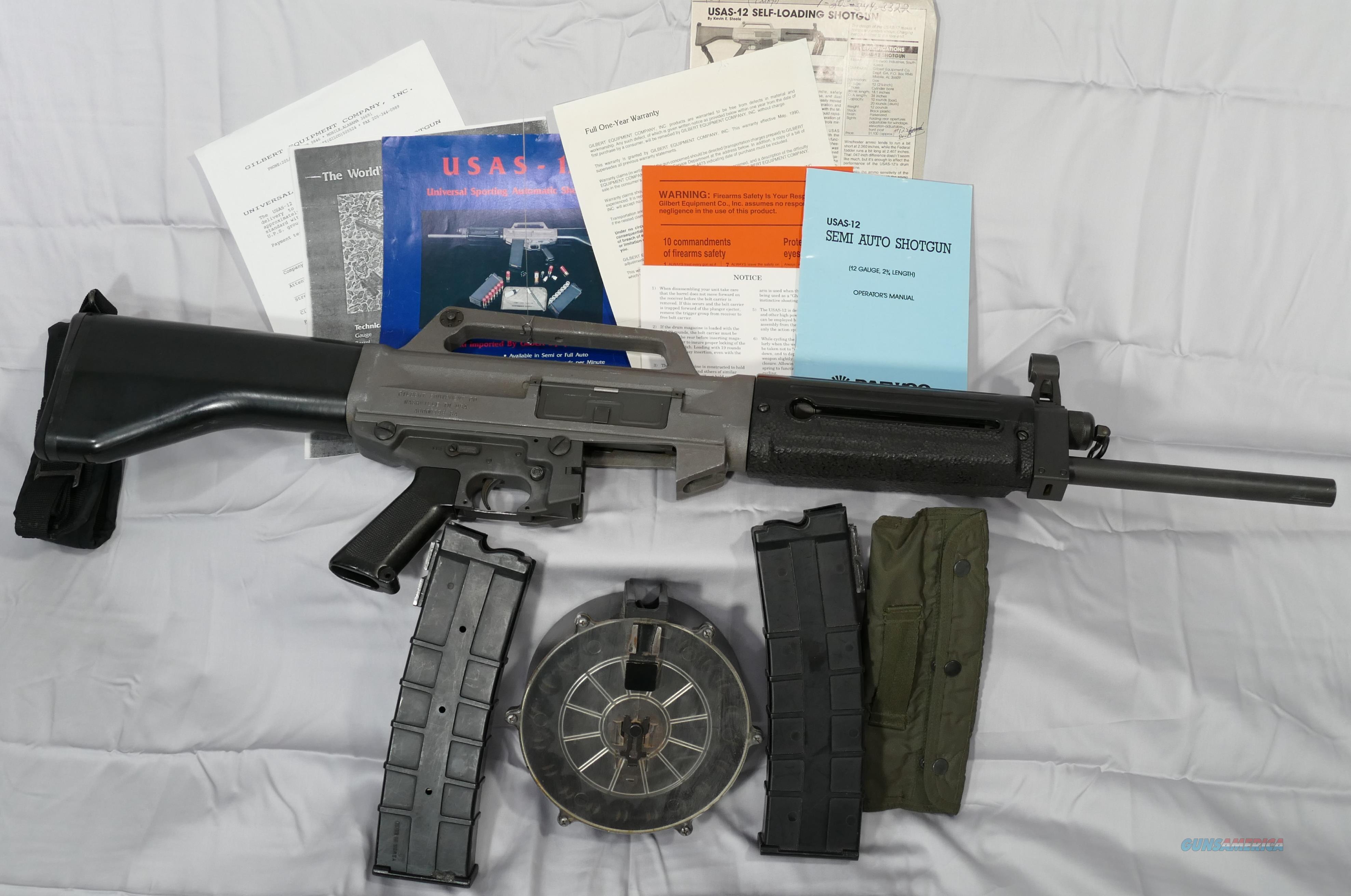 Usas-12, usas12, Daewoo Industries,  Guns > Shotguns > Daewoo Shotguns