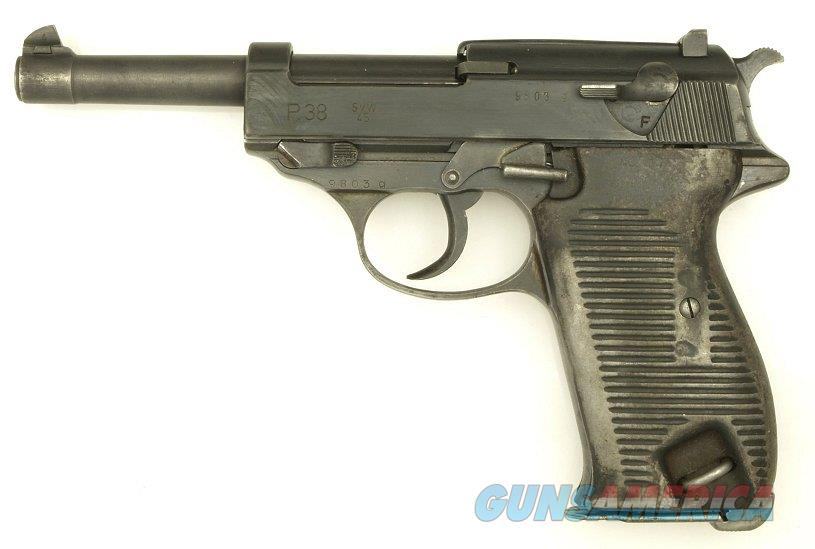 Walther P.38 Made by Mauser in 1945 SVW 45  Guns > Pistols > Walther Pistols > Post WWII > P38