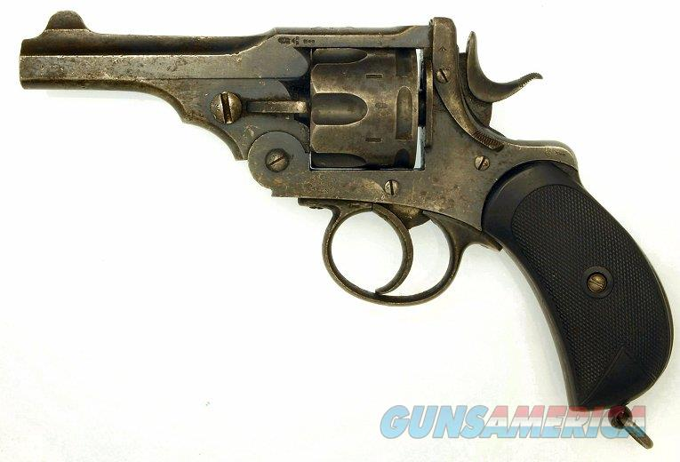 Early antique Webley Mark I .455 Revolver, ca. 1890, converted to .45 ACP.   Guns > Pistols > Webley Pistols